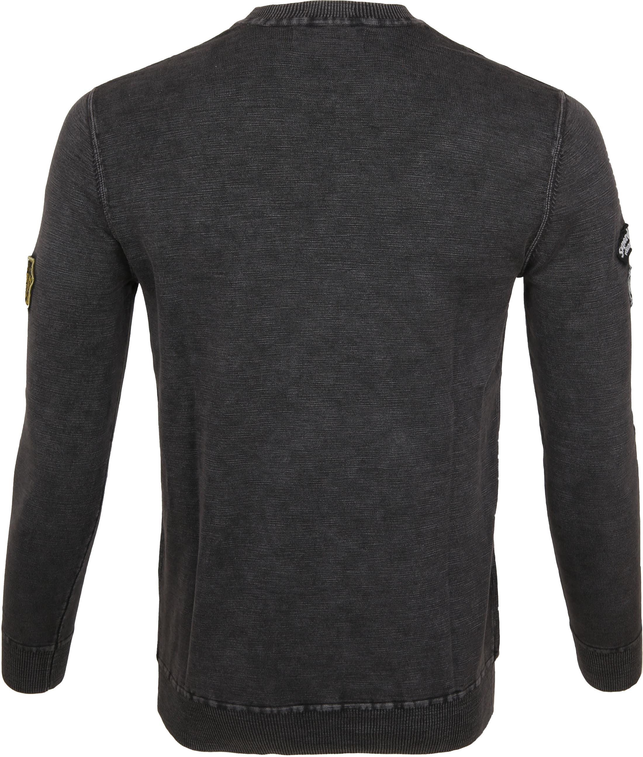 Superdry Sweater Badged Antraciet foto 2