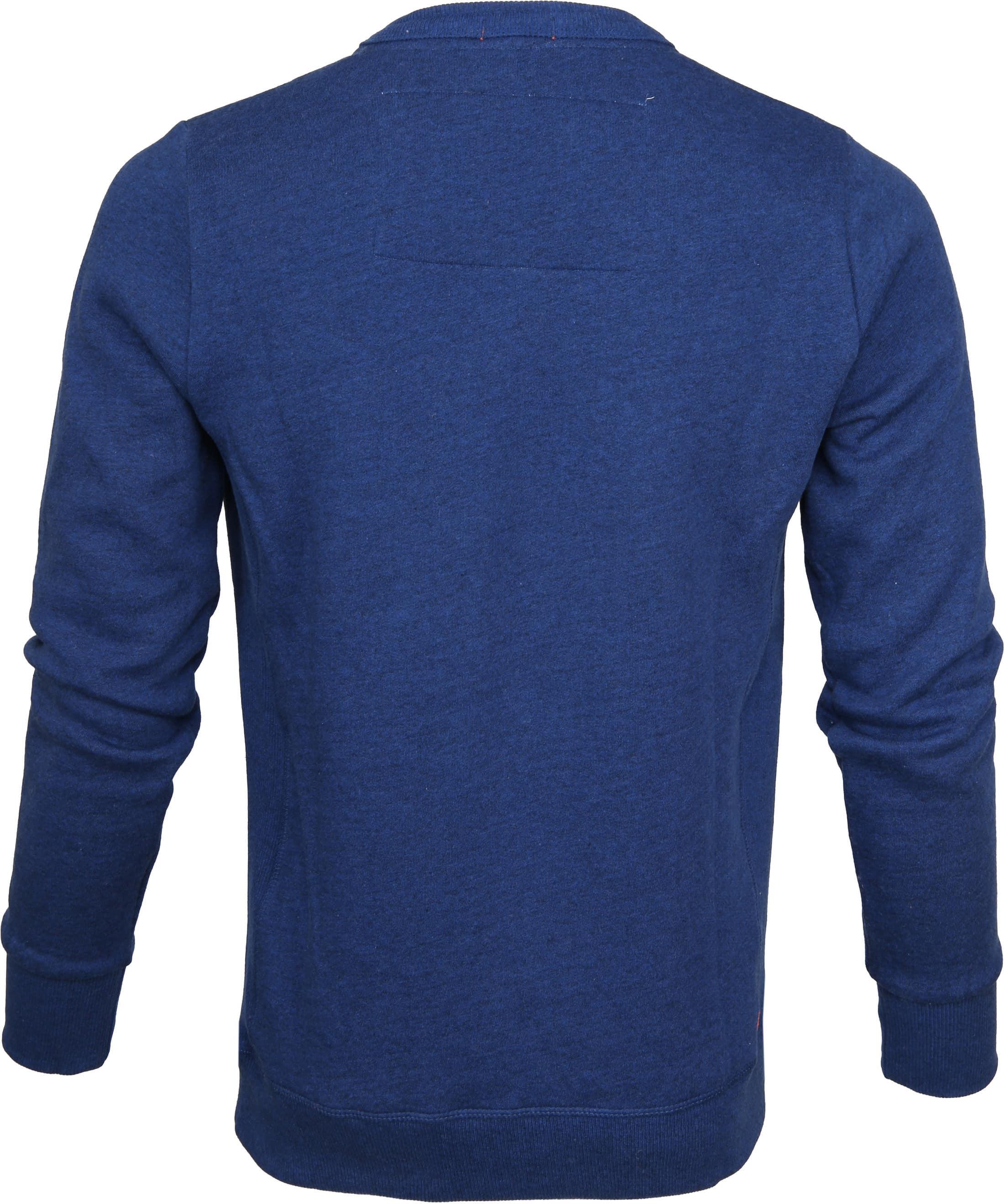 Superdry Sweater Blau Melange foto 2