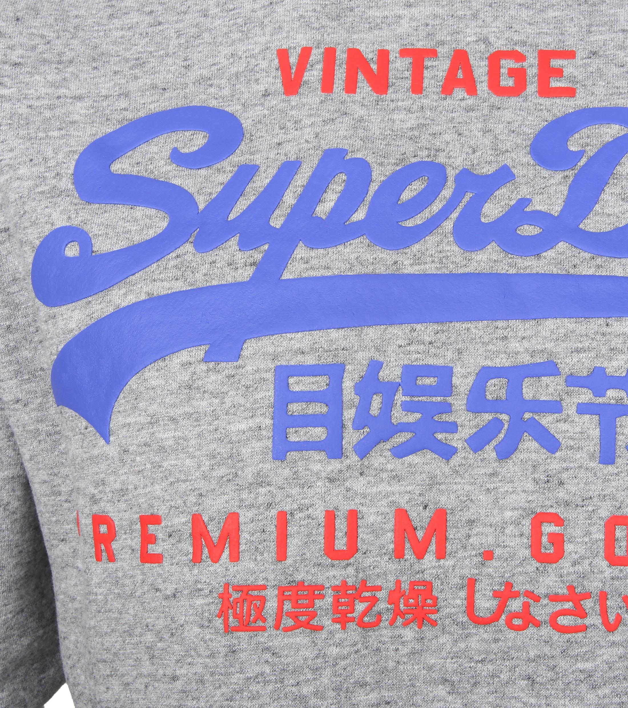 Superdry Sweater Duo Hood Grijs foto 1
