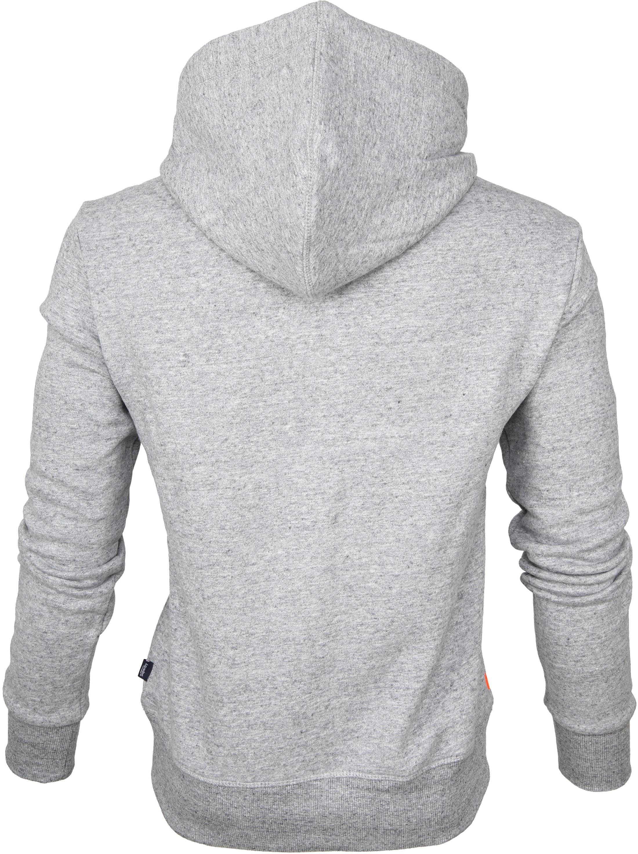 Superdry Sweater Duo Hood Grijs foto 2