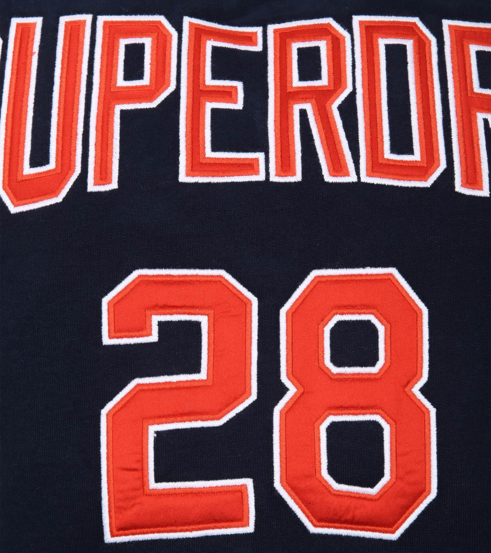 Superdry Sweater Logo Donkerblauw foto 3