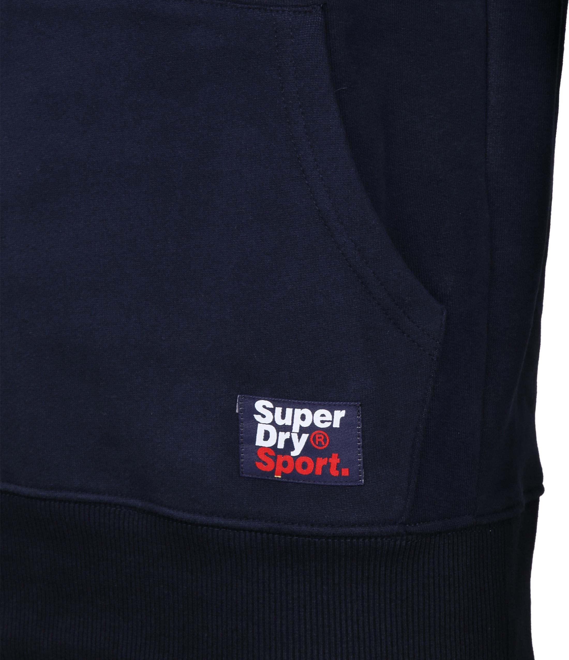 Superdry Sweater Logo Donkerblauw foto 4
