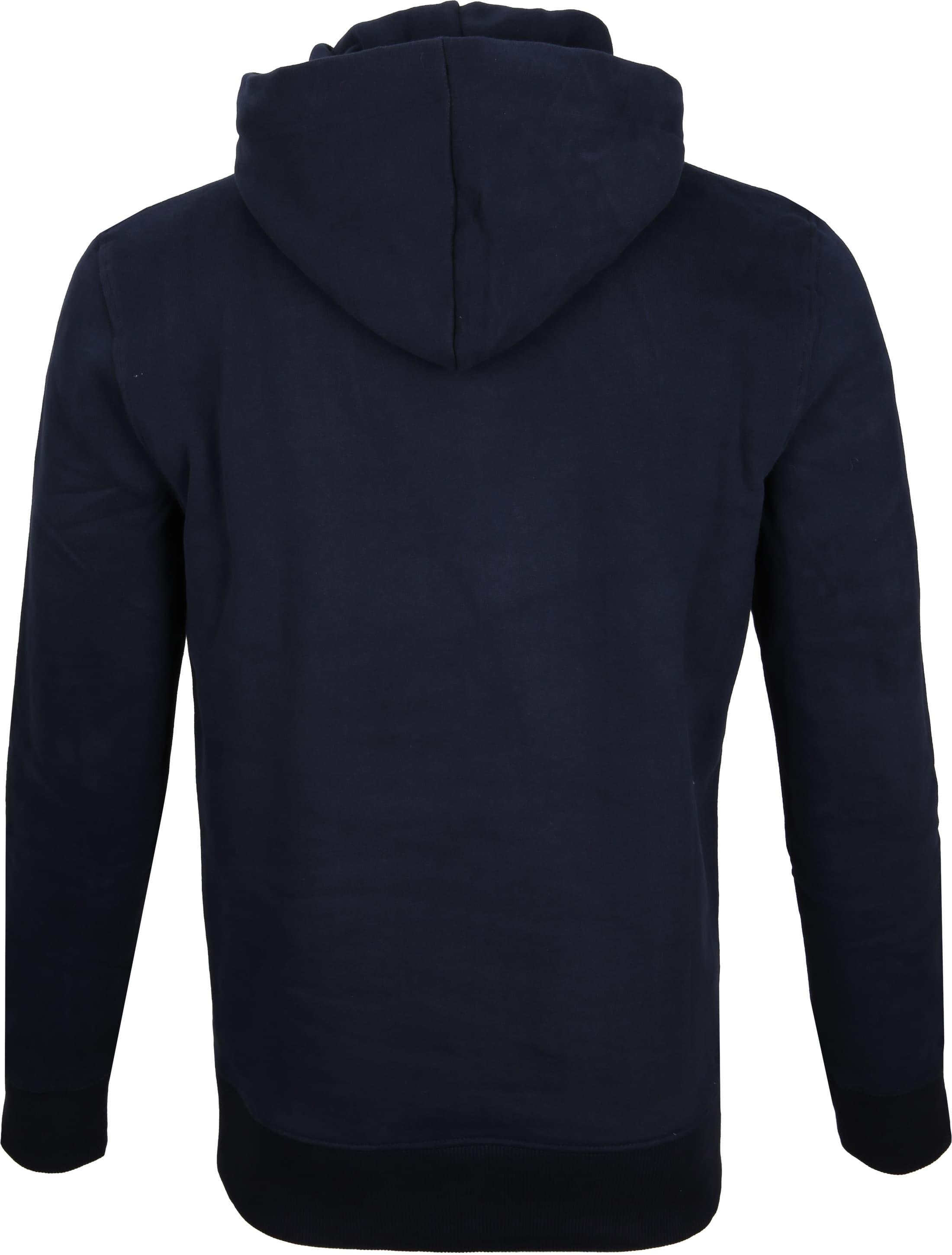 Superdry Sweater Logo Donkerblauw foto 5