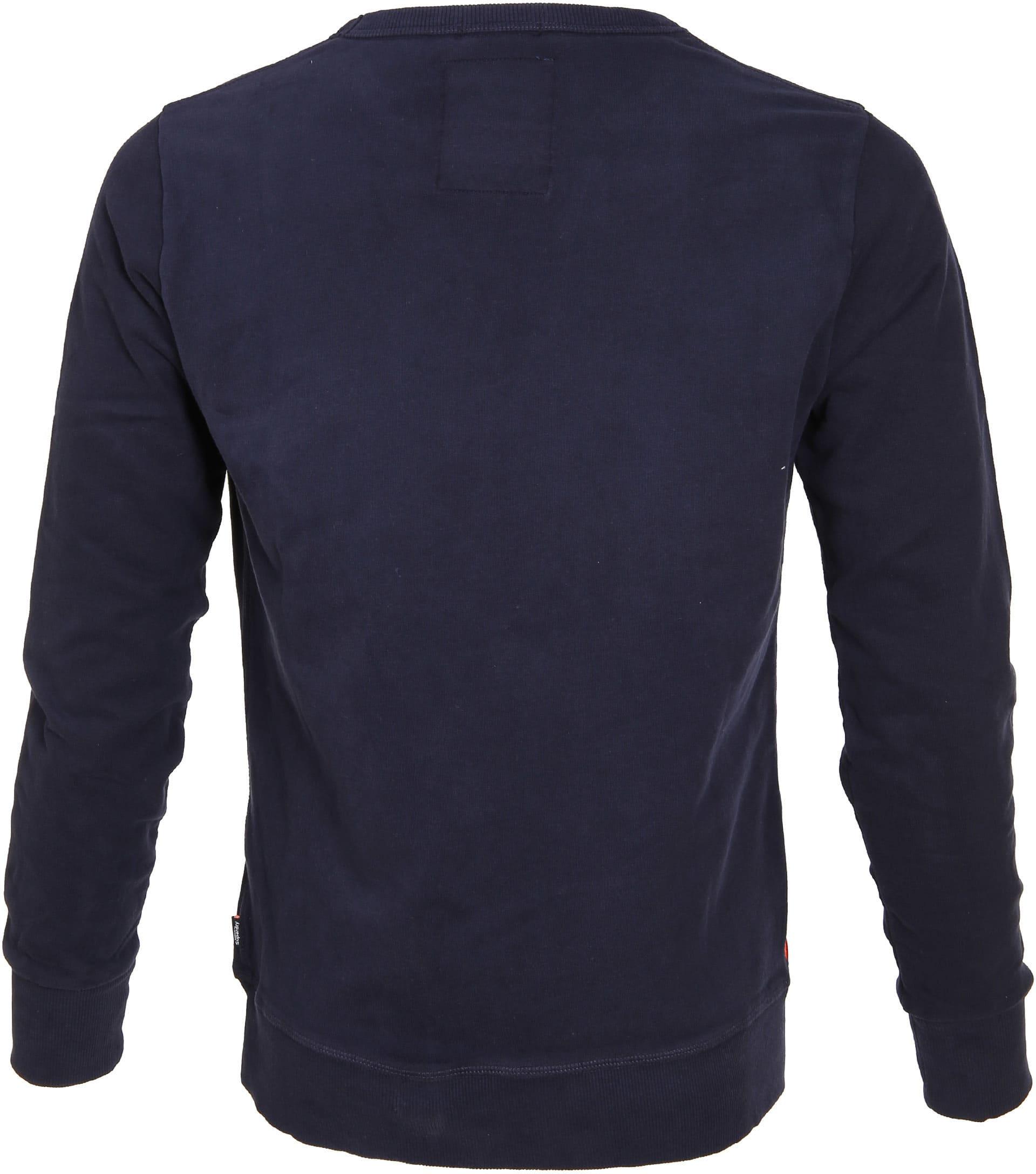 Superdry Sweater Logo Navy foto 2