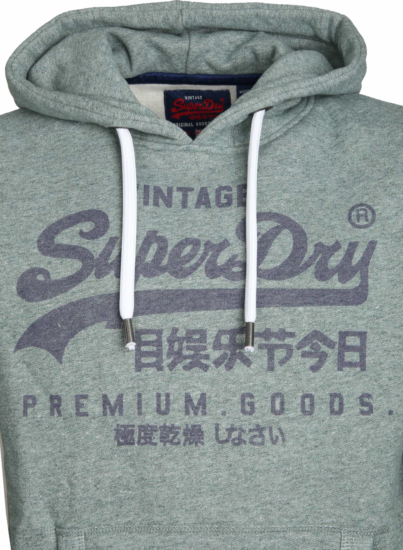 Superdry Sweater Logo Vintage Groen foto 2