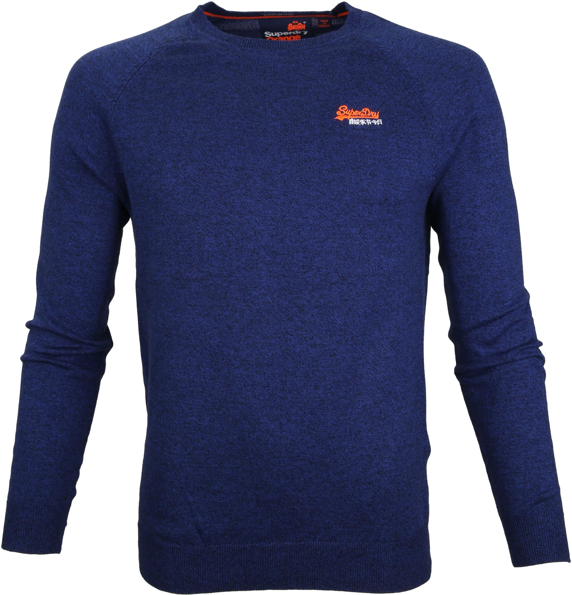 Superdry Sweater Melange Blue foto 0