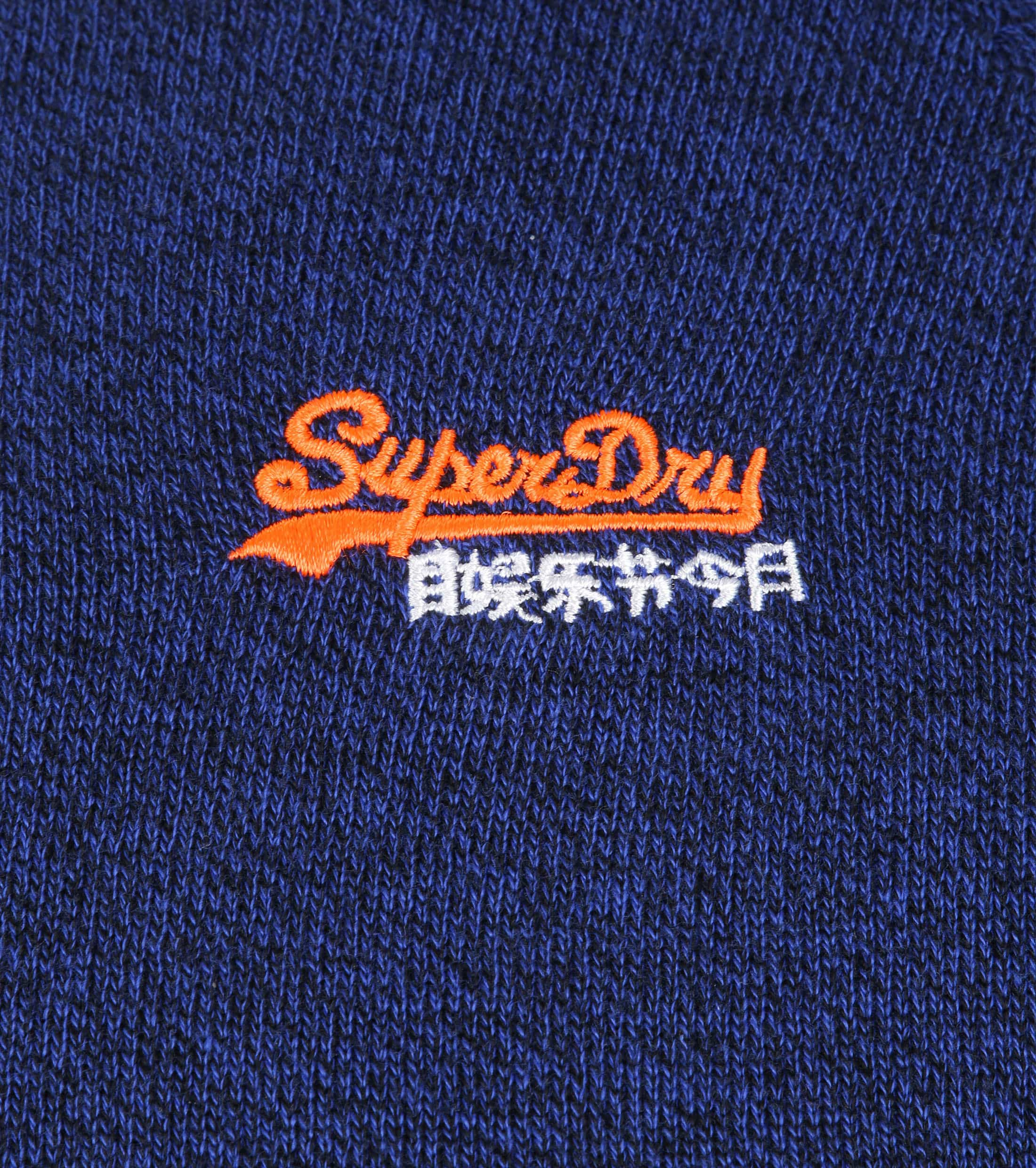 Superdry Sweater Melange Blue foto 3
