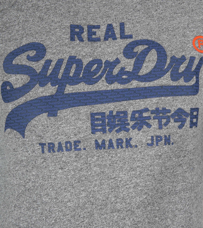 Superdry Sweater Melange Grijs foto 1