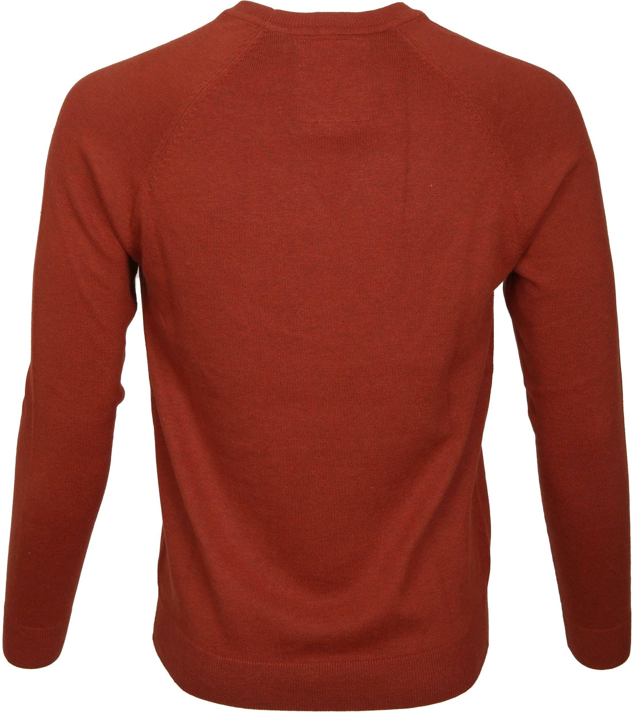 Superdry Sweater Melange Red Orange foto 2