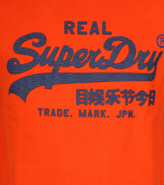 Superdry Sweater Vintage Oranje foto 1
