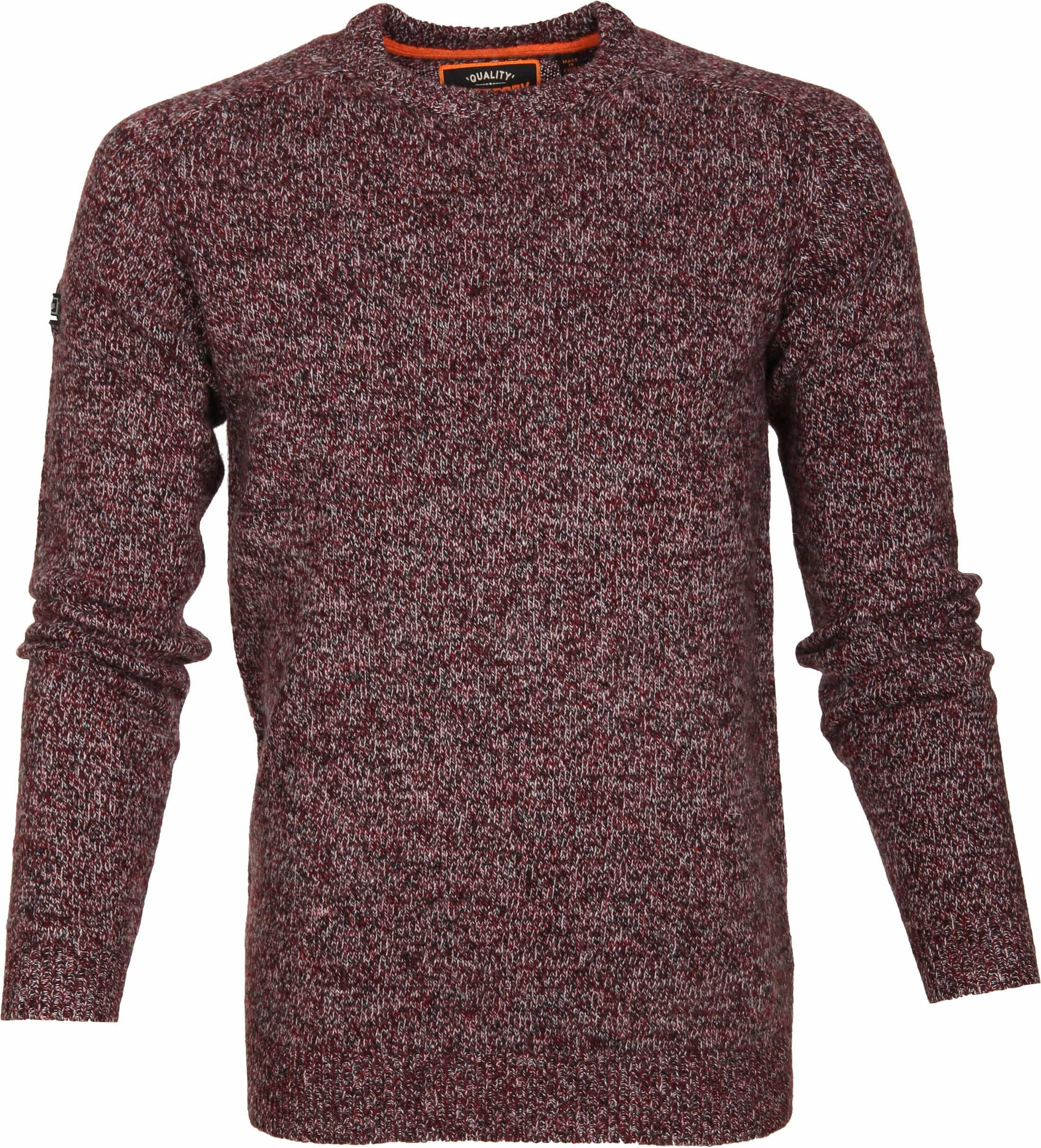 Superdry Sweater Wol Bordeaux foto 0