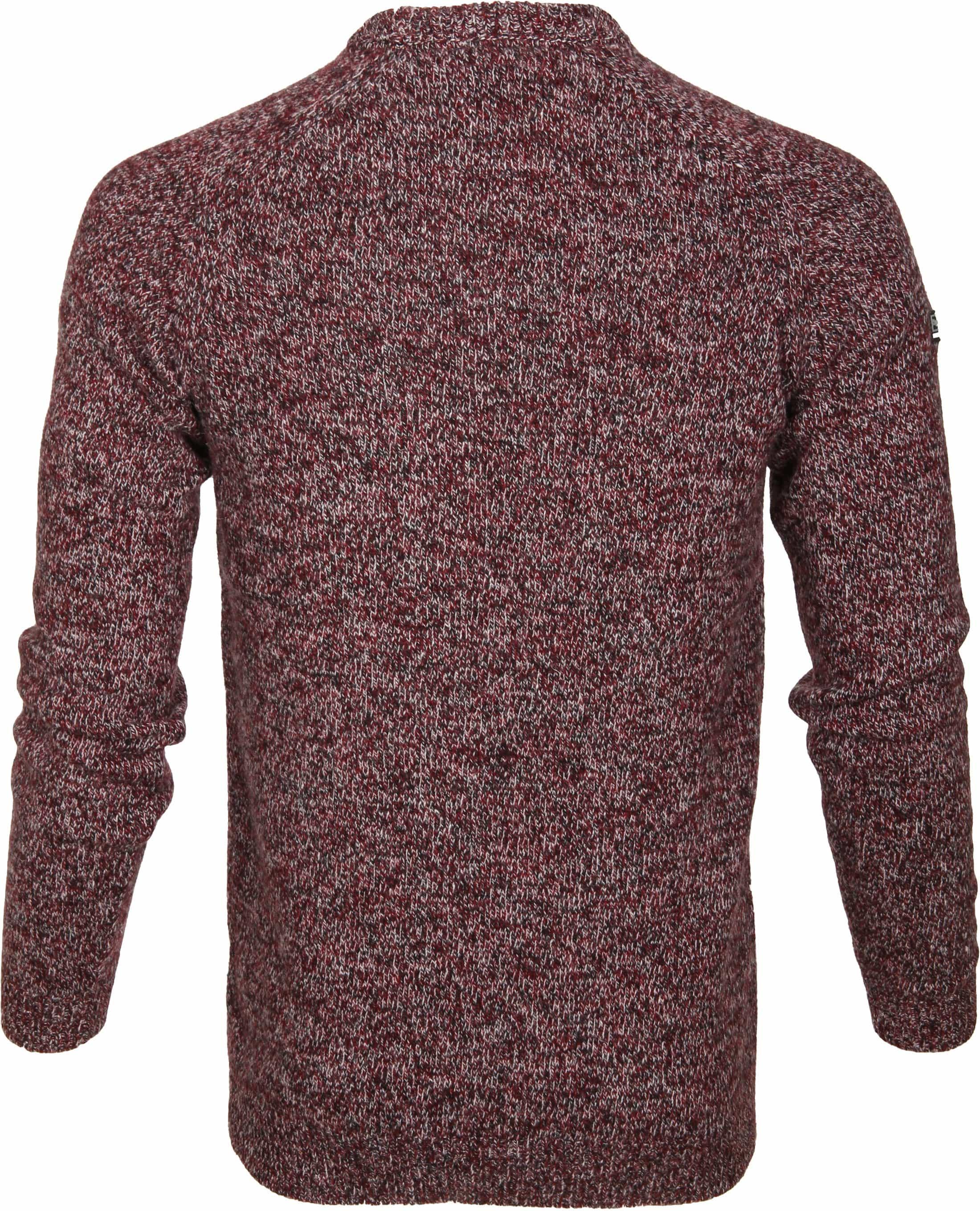 Superdry Sweater Wol Bordeaux foto 4