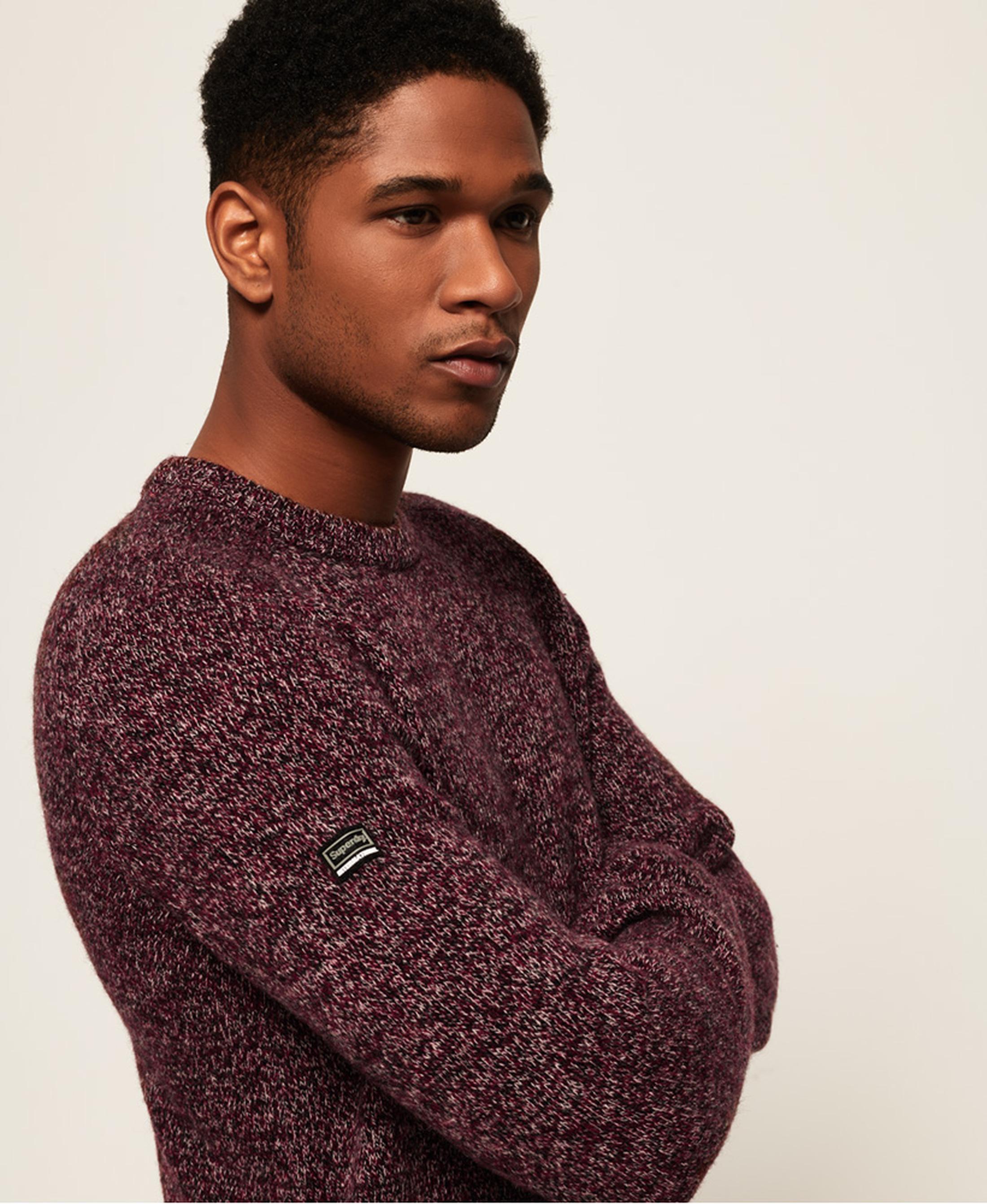 Superdry Sweater Wol Bordeaux foto 6