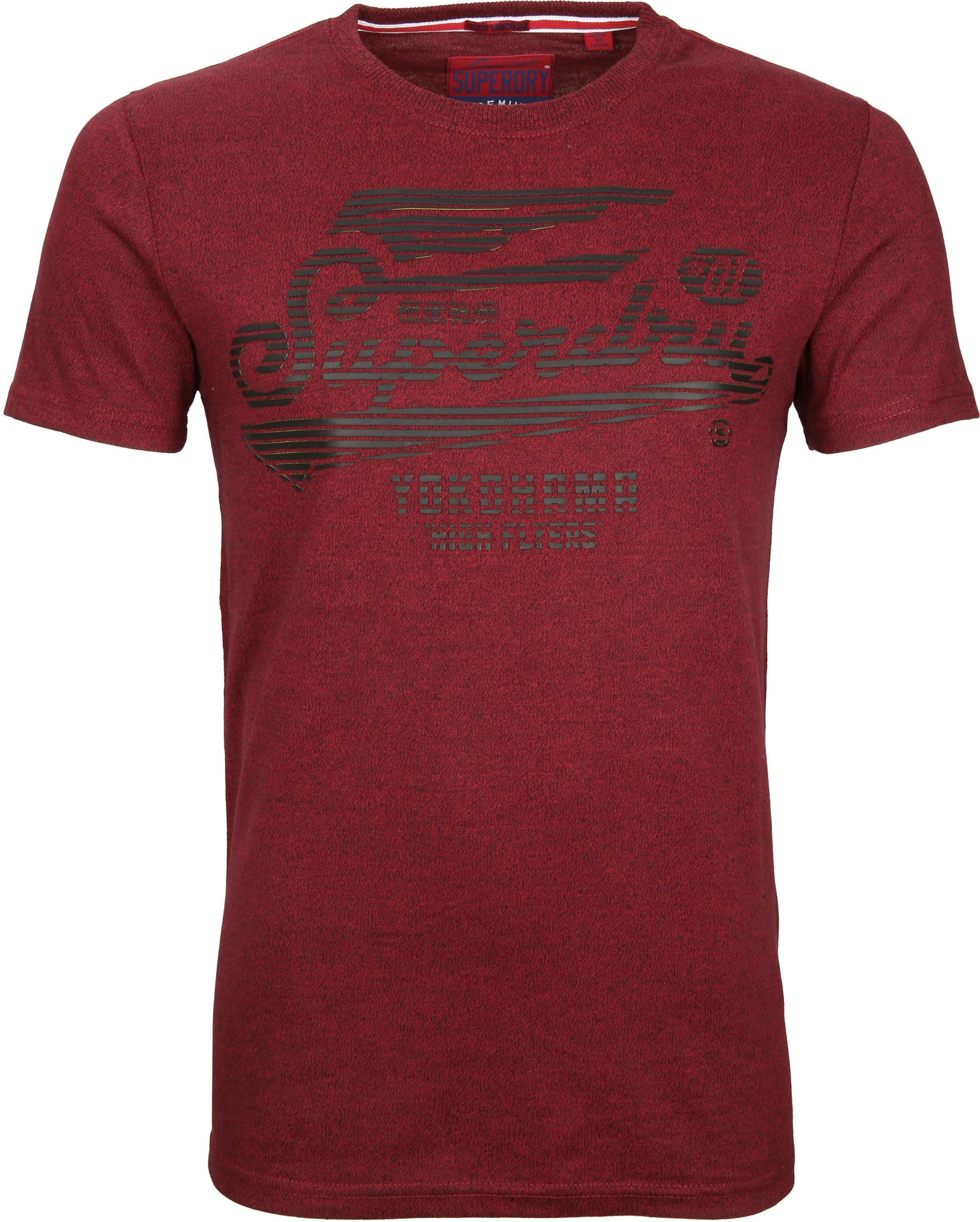 2438e578e0a Superdry T-Shirt Flyers Bordeaux M10303AR online bestellen | Suitable