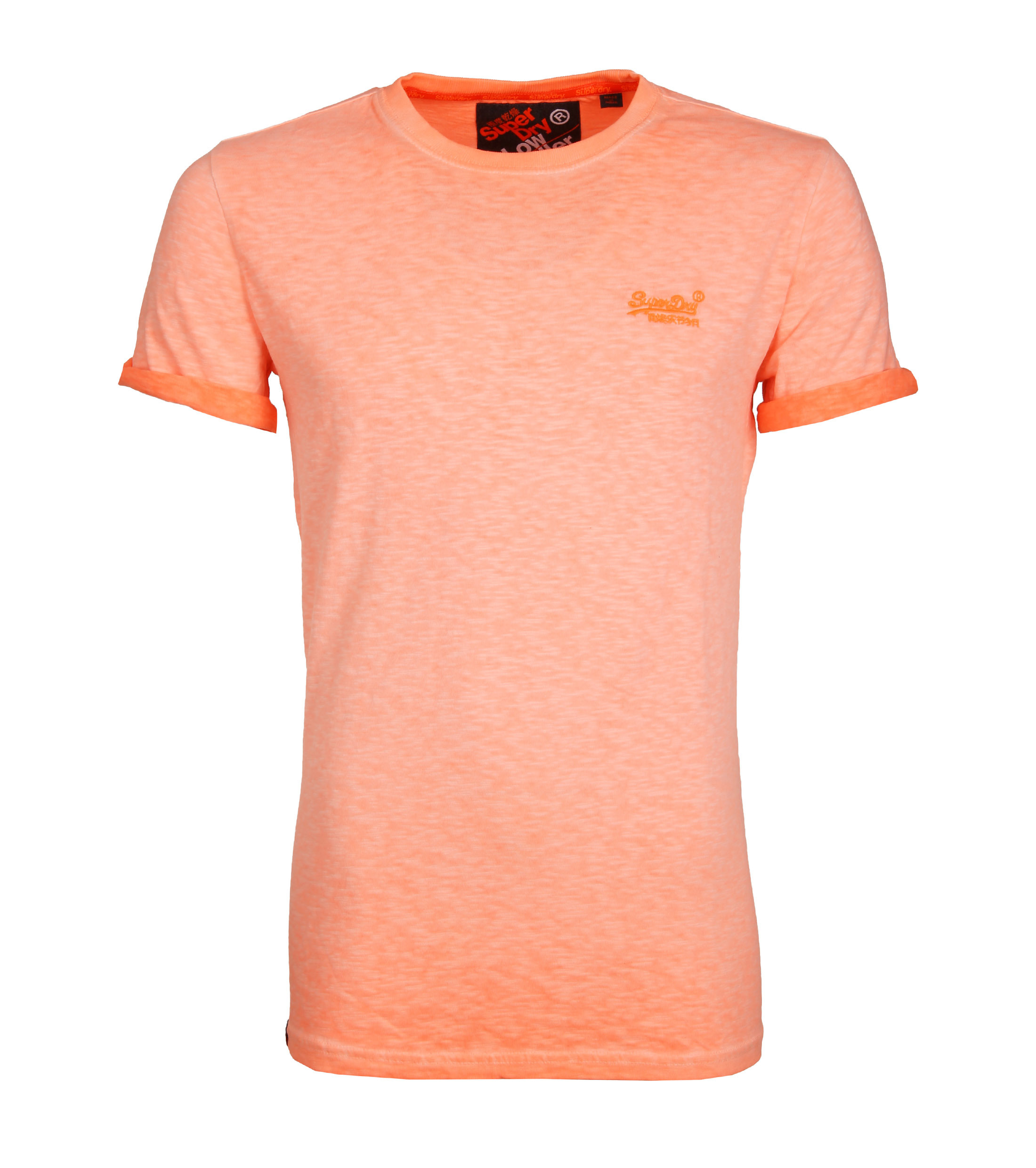 Superdry T-Shirt Low Roller Oranje foto 0