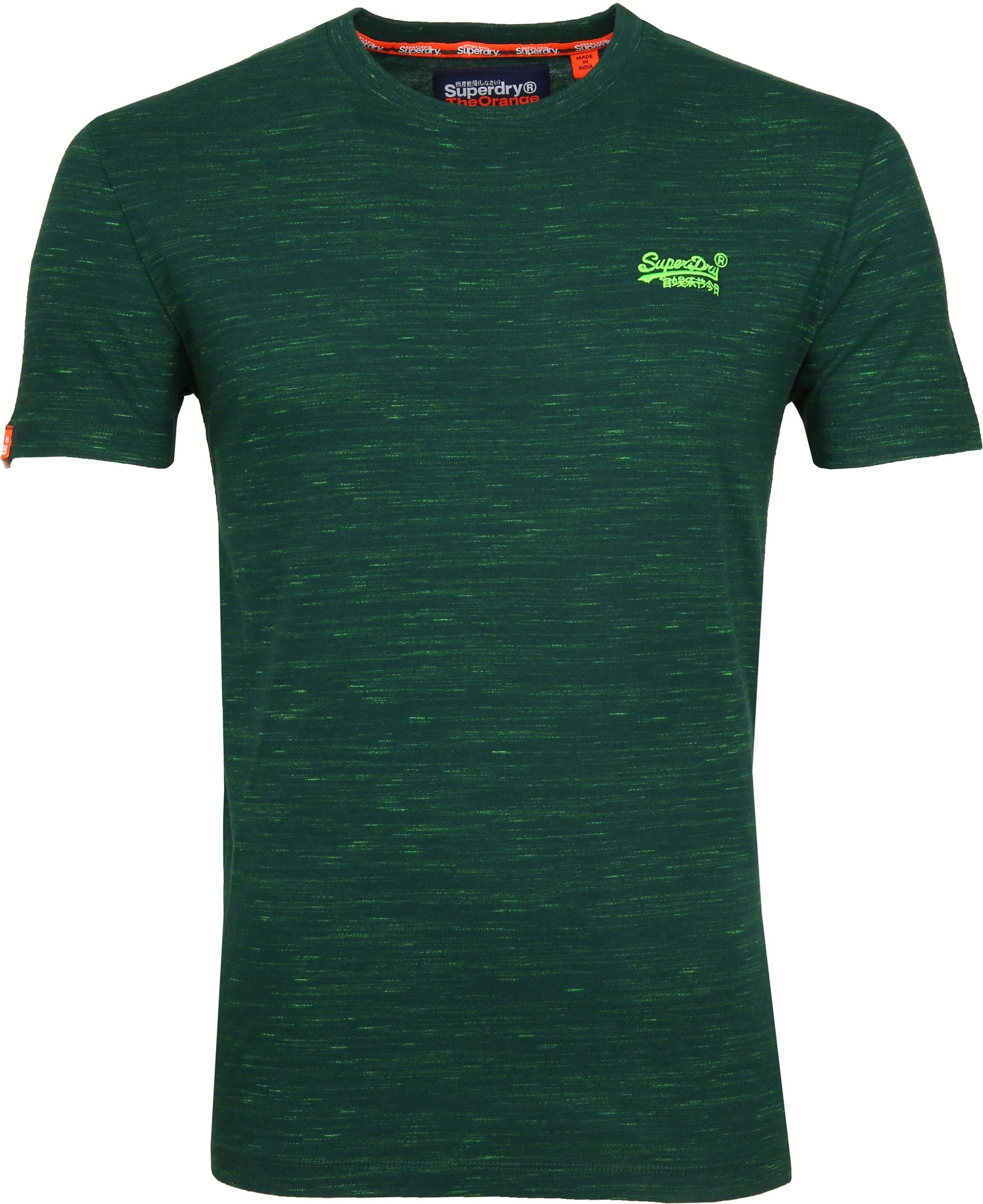 Superdry T-Shirt Melange Green foto 0