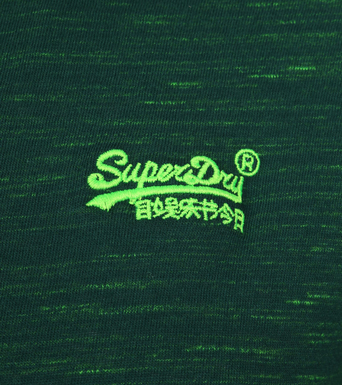 Superdry T-Shirt Melange Green foto 1