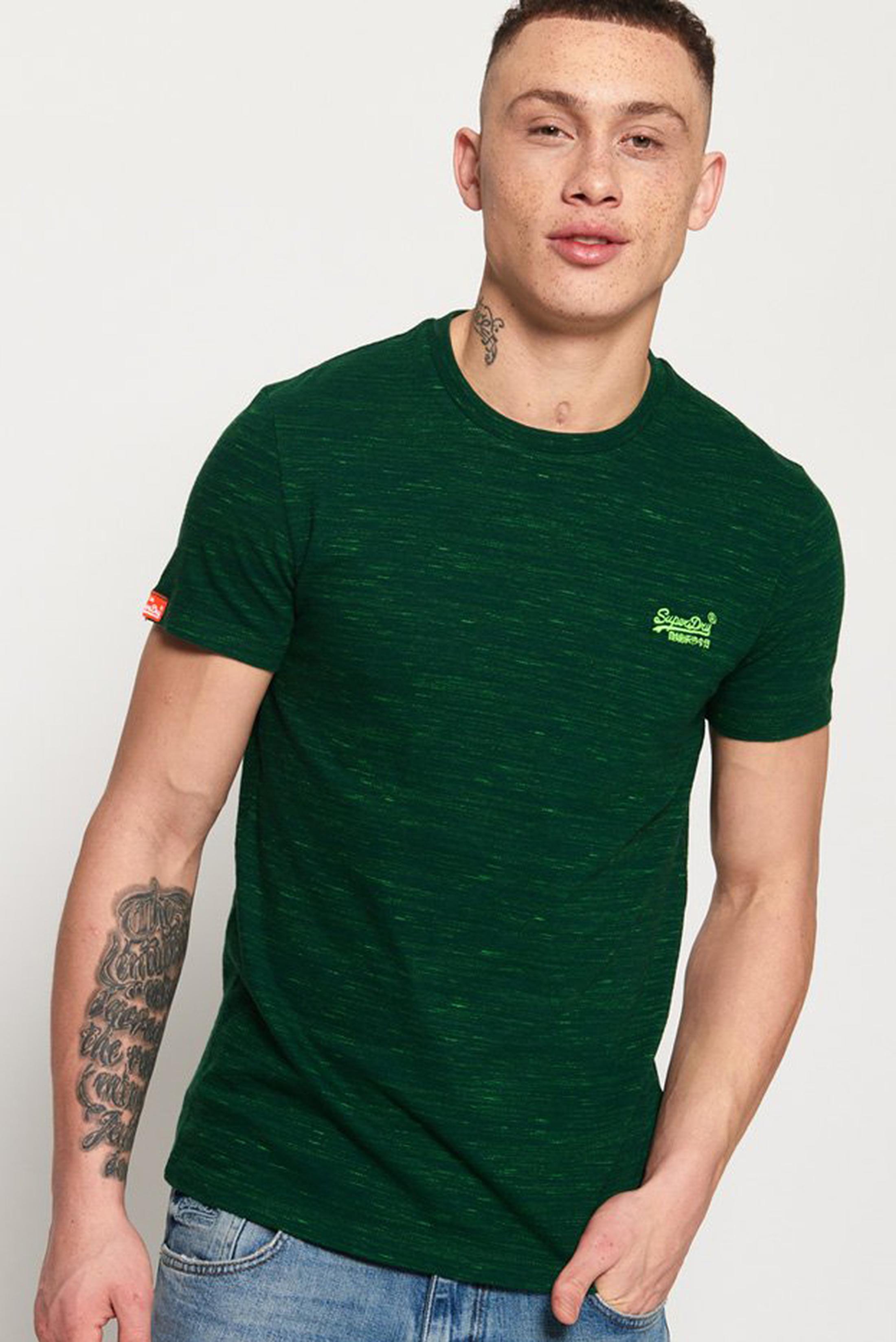 Superdry T-Shirt Melange Green foto 3