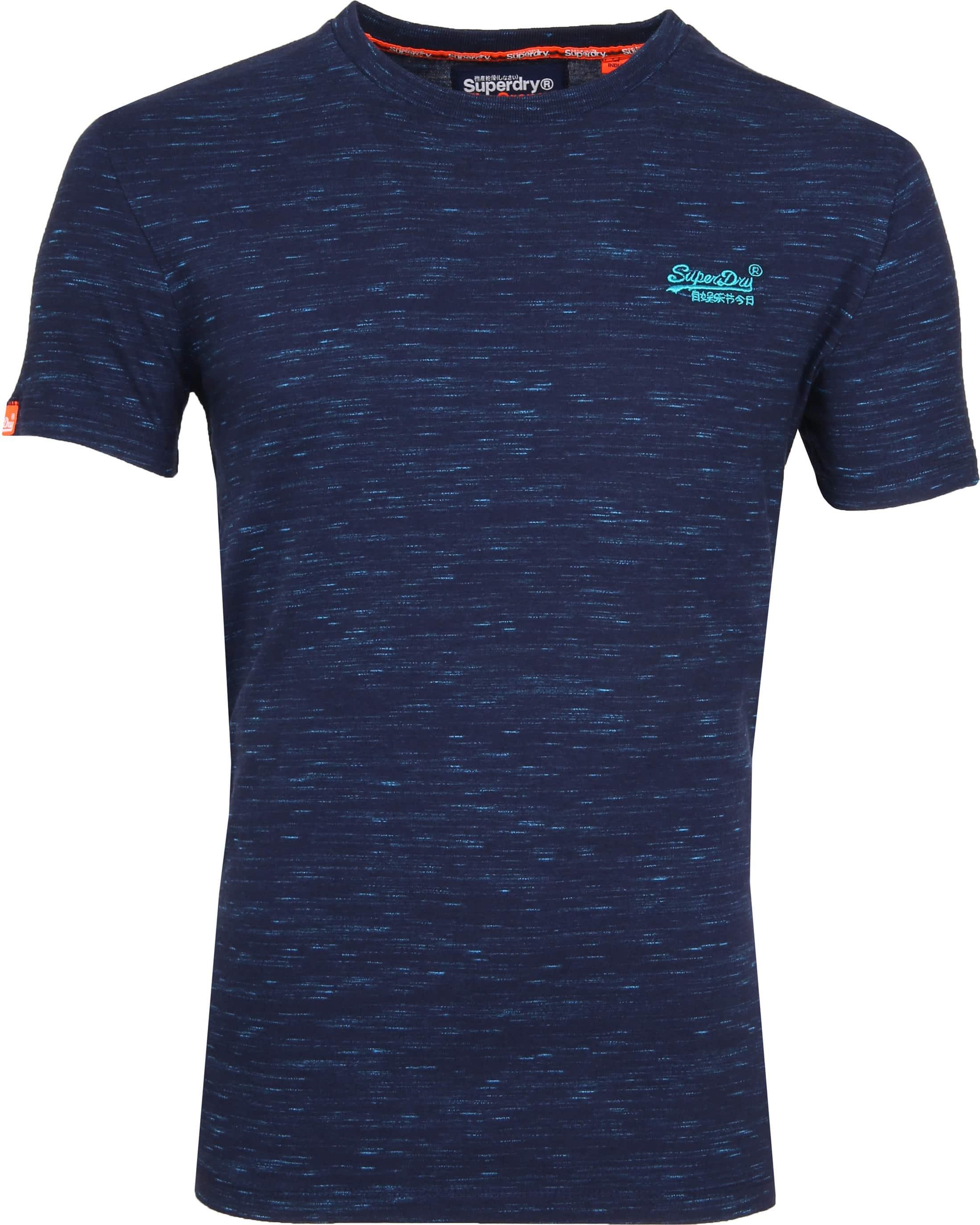 Superdry T-Shirt Navy Melange foto 0