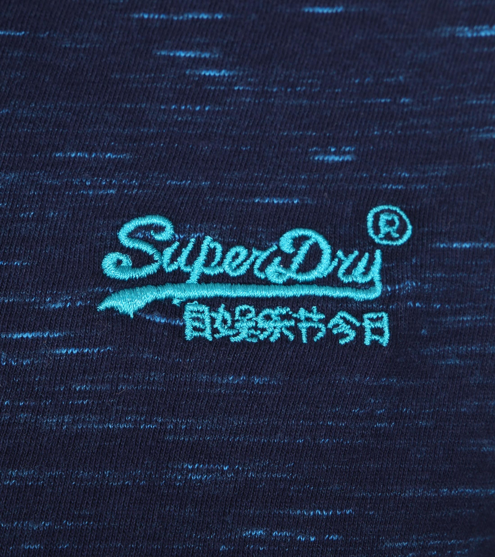 Superdry T-Shirt Navy Melange foto 1