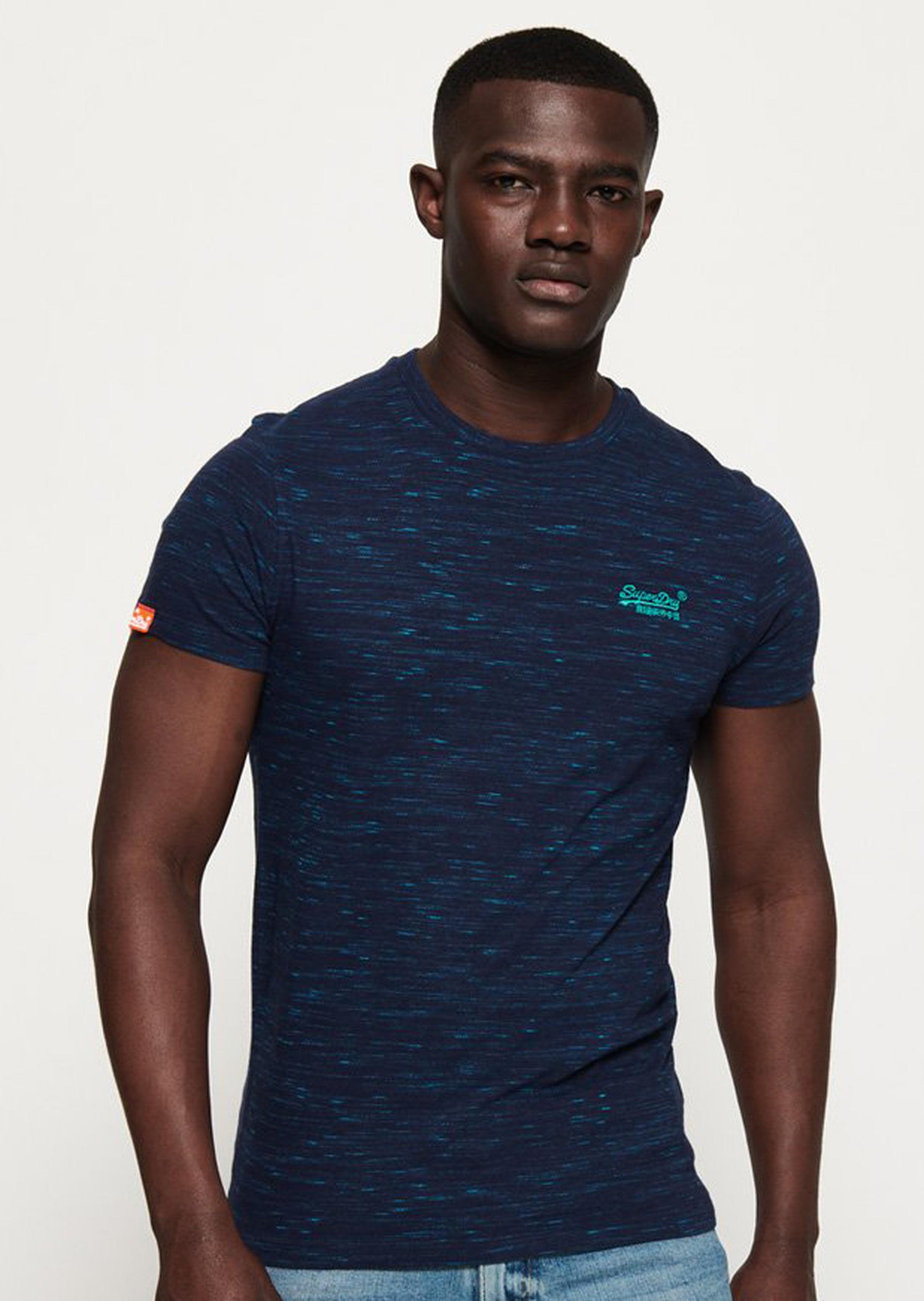 Superdry T-Shirt Navy Melange foto 4