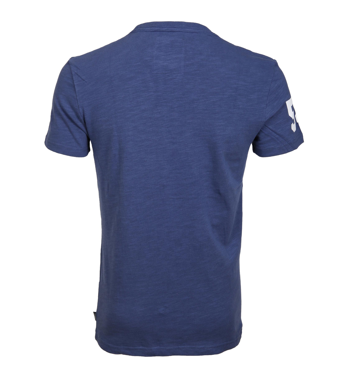 Superdry T-Shirt Premium Goods Blauw foto 3