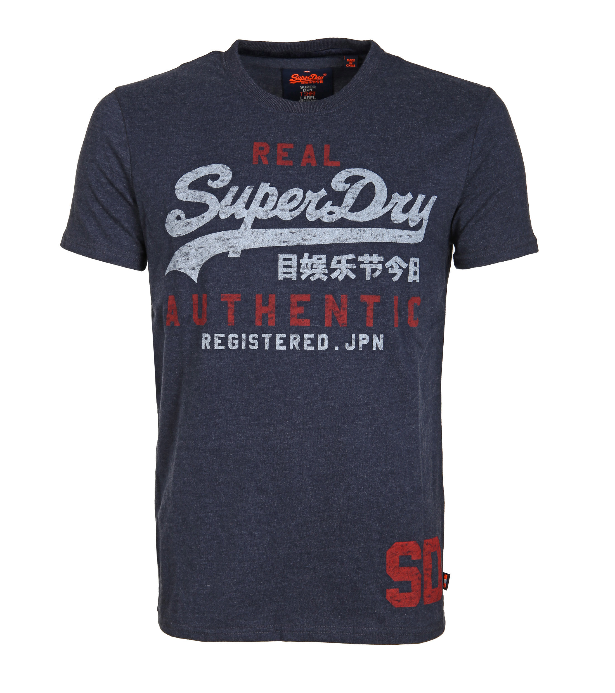 Superdry T-Shirt Vintage Navy foto 0