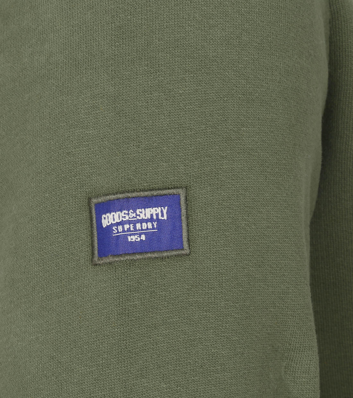 Superdry Trui Workwear Donkergroen