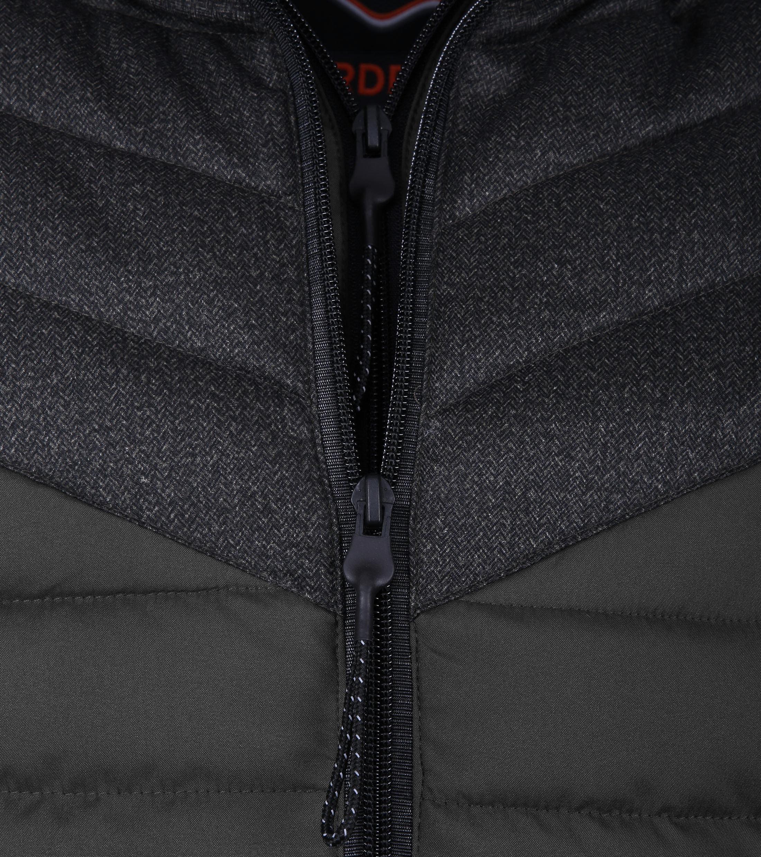 Superdry Tweed Mix Fuji Zwart foto 2