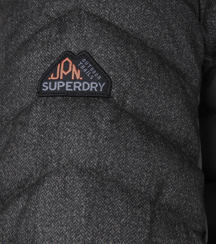 Superdry Tweed Mix Fuji Zwart foto 4