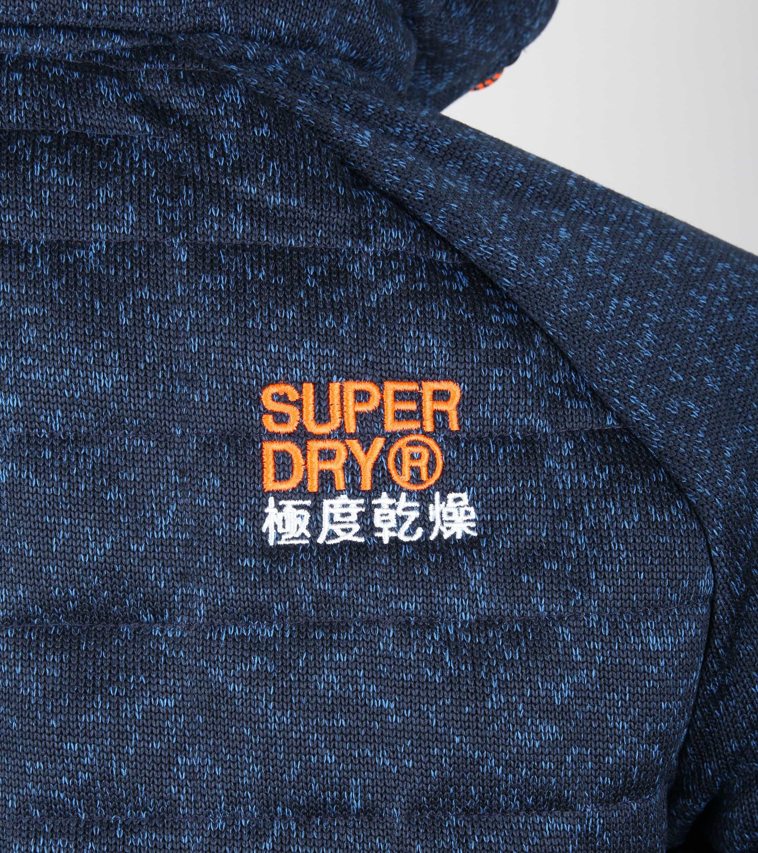 Superdry Vest Indigo Melange foto 3