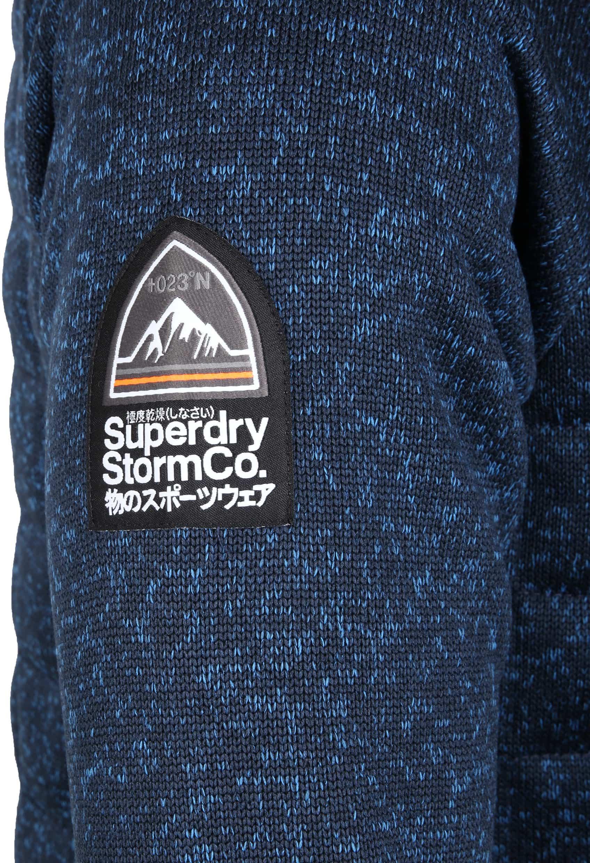 Superdry Vest Indigo Melange foto 4