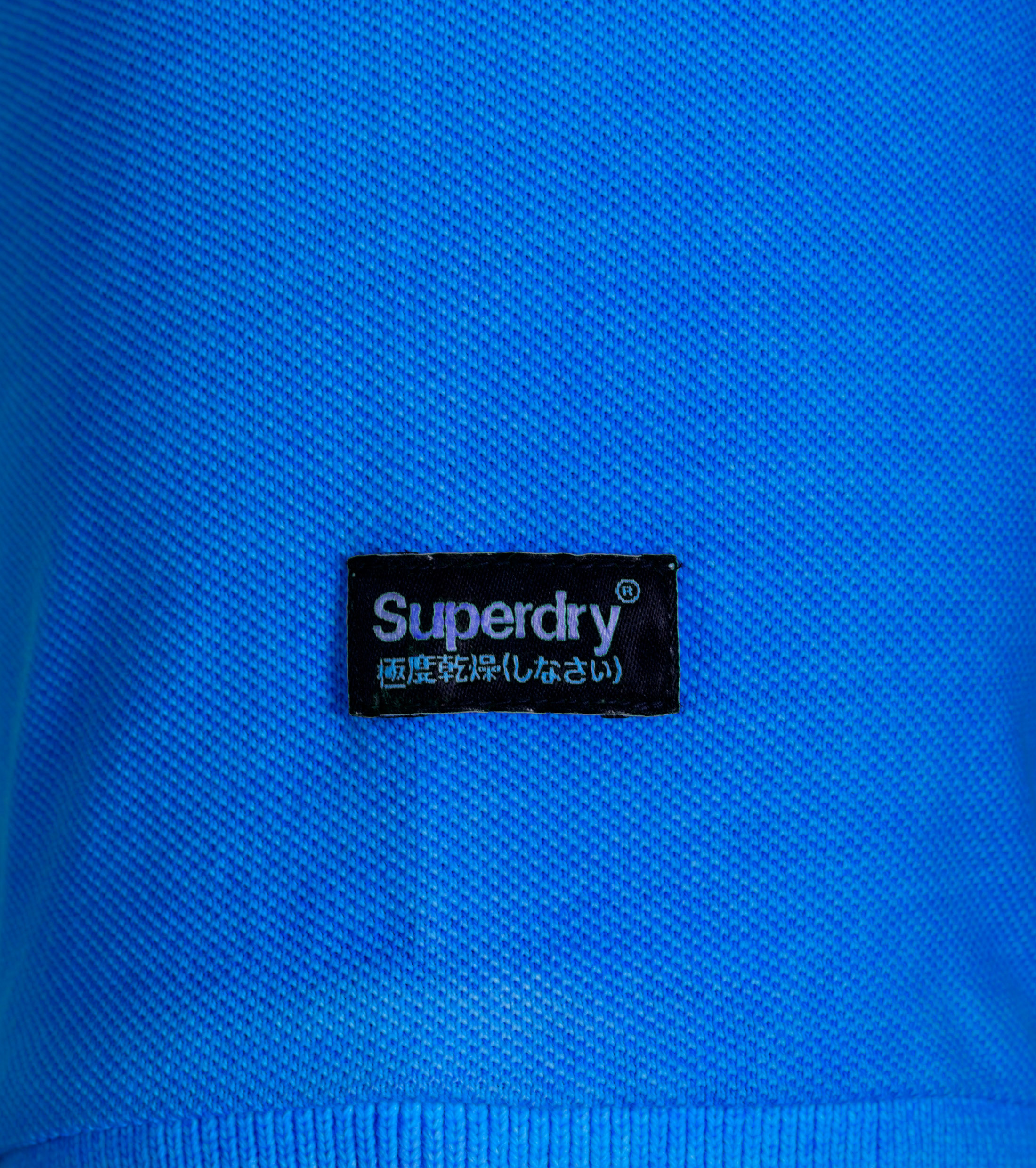 Superdry Vintage Destroyed Polo Blauw foto 2