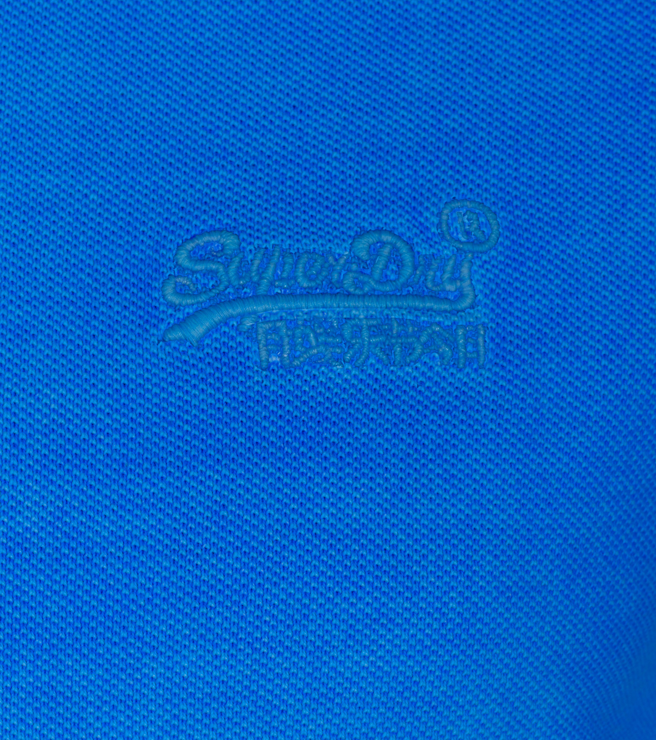 Superdry Vintage Destroyed Polo Blue foto 1