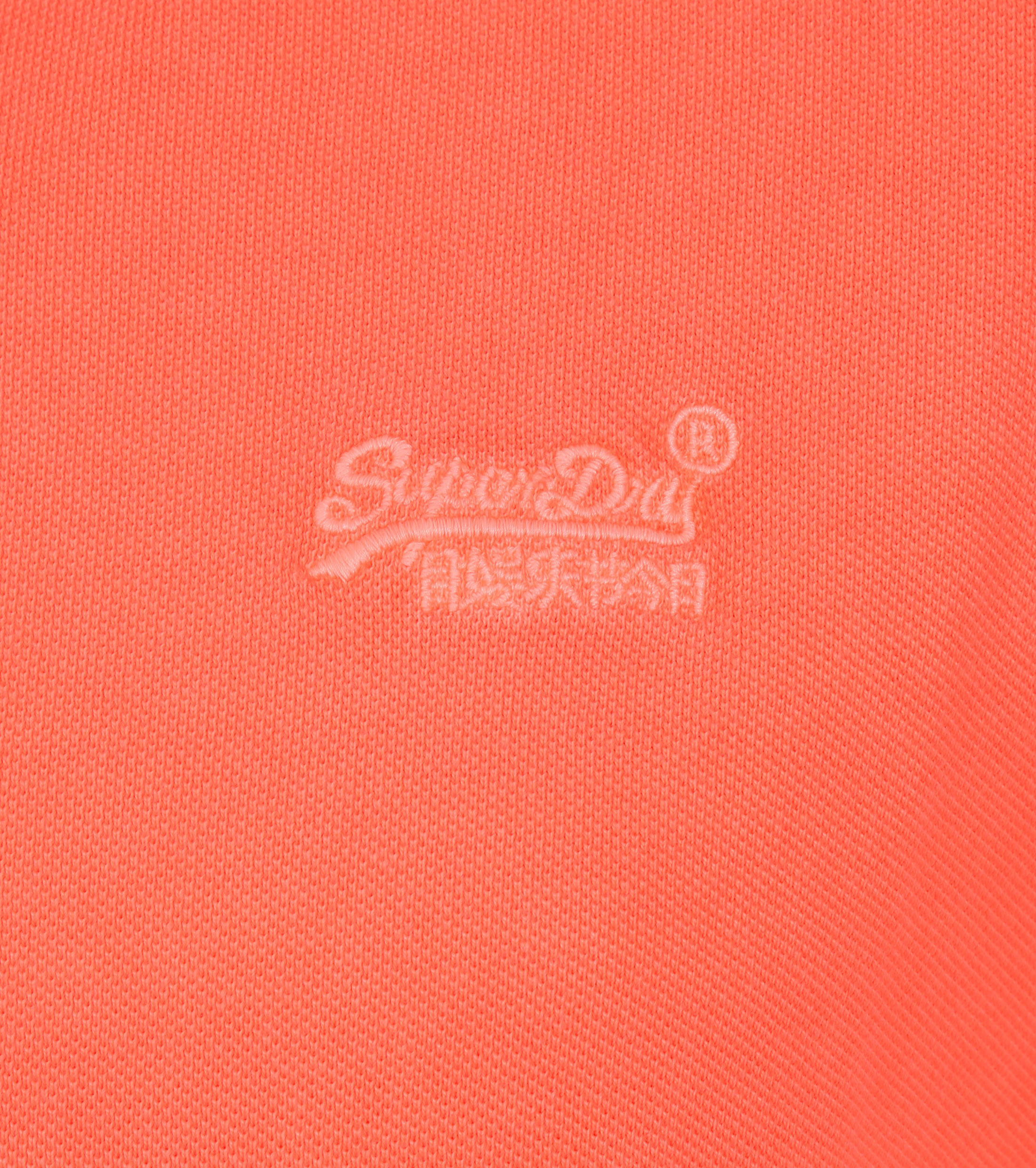 Superdry Vintage Destroyed Polo Oranje foto 1