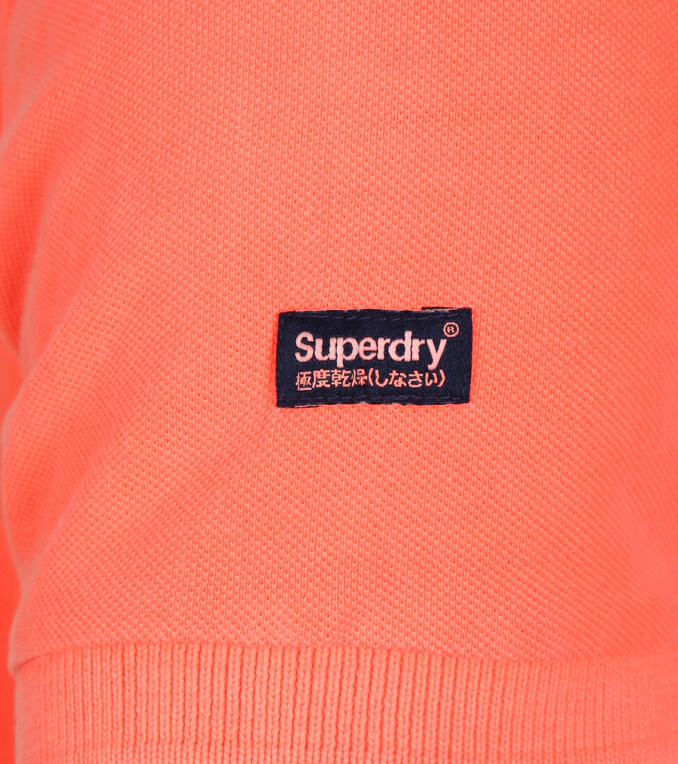 Superdry Vintage Destroyed Polo Oranje foto 2