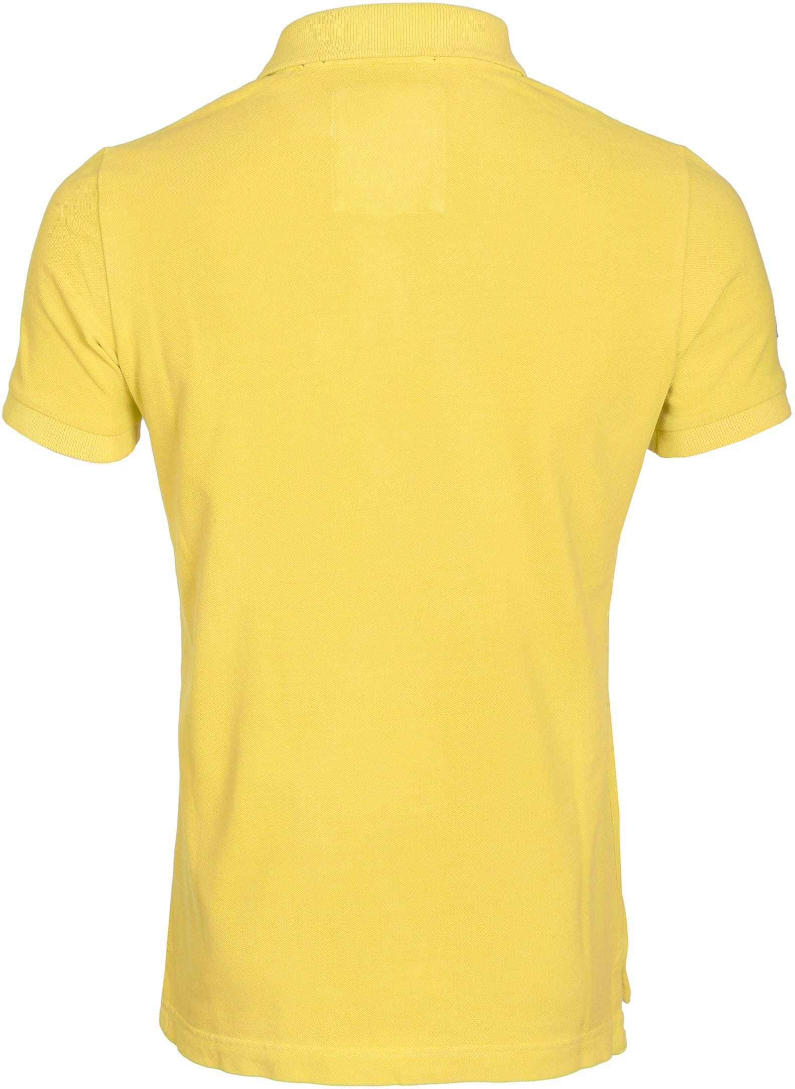 Superdry Vintage Destroyed Polo Yellow foto 3