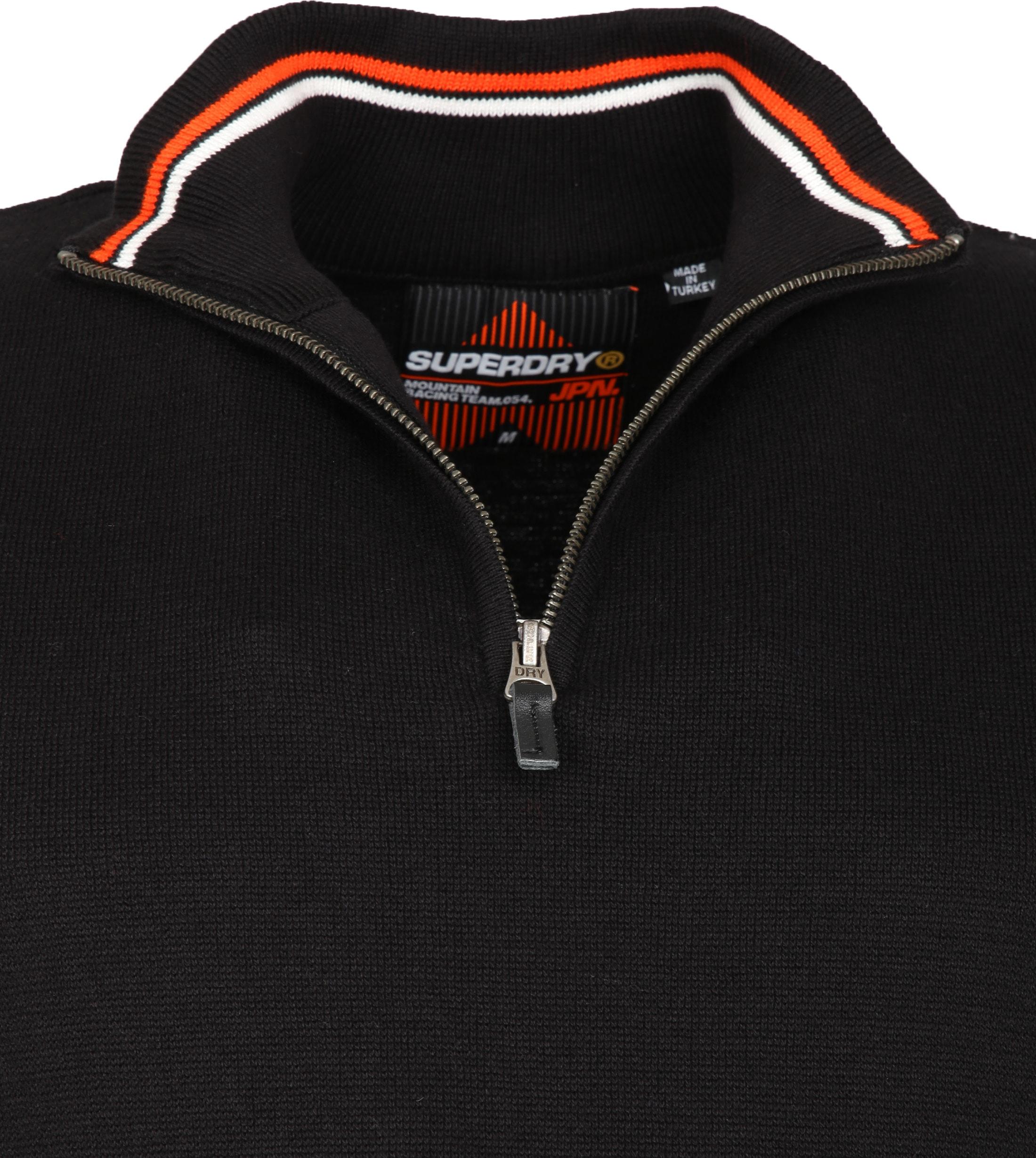 Superdry Zipper Zwart foto 1