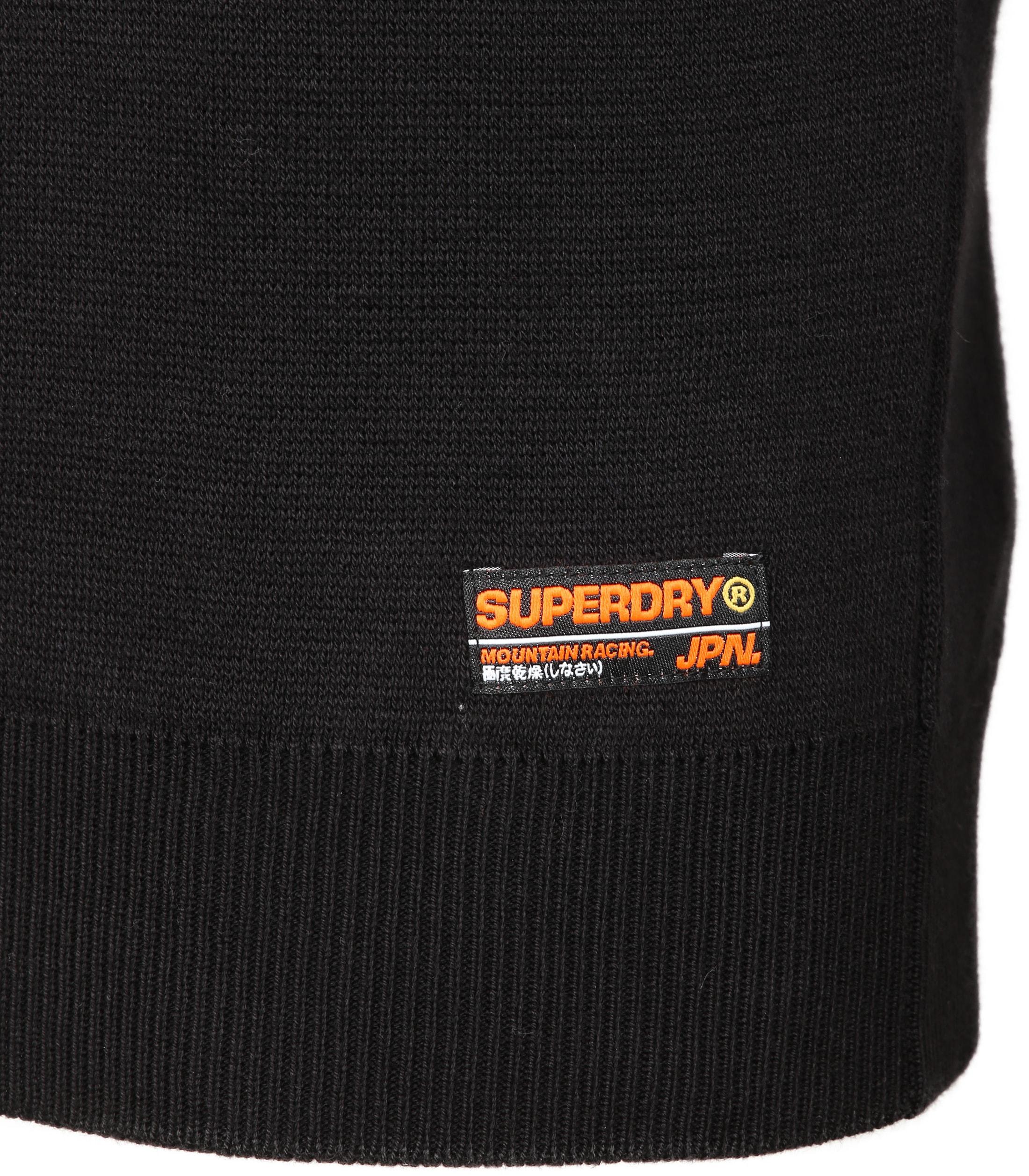 Superdry Zipper Zwart foto 2