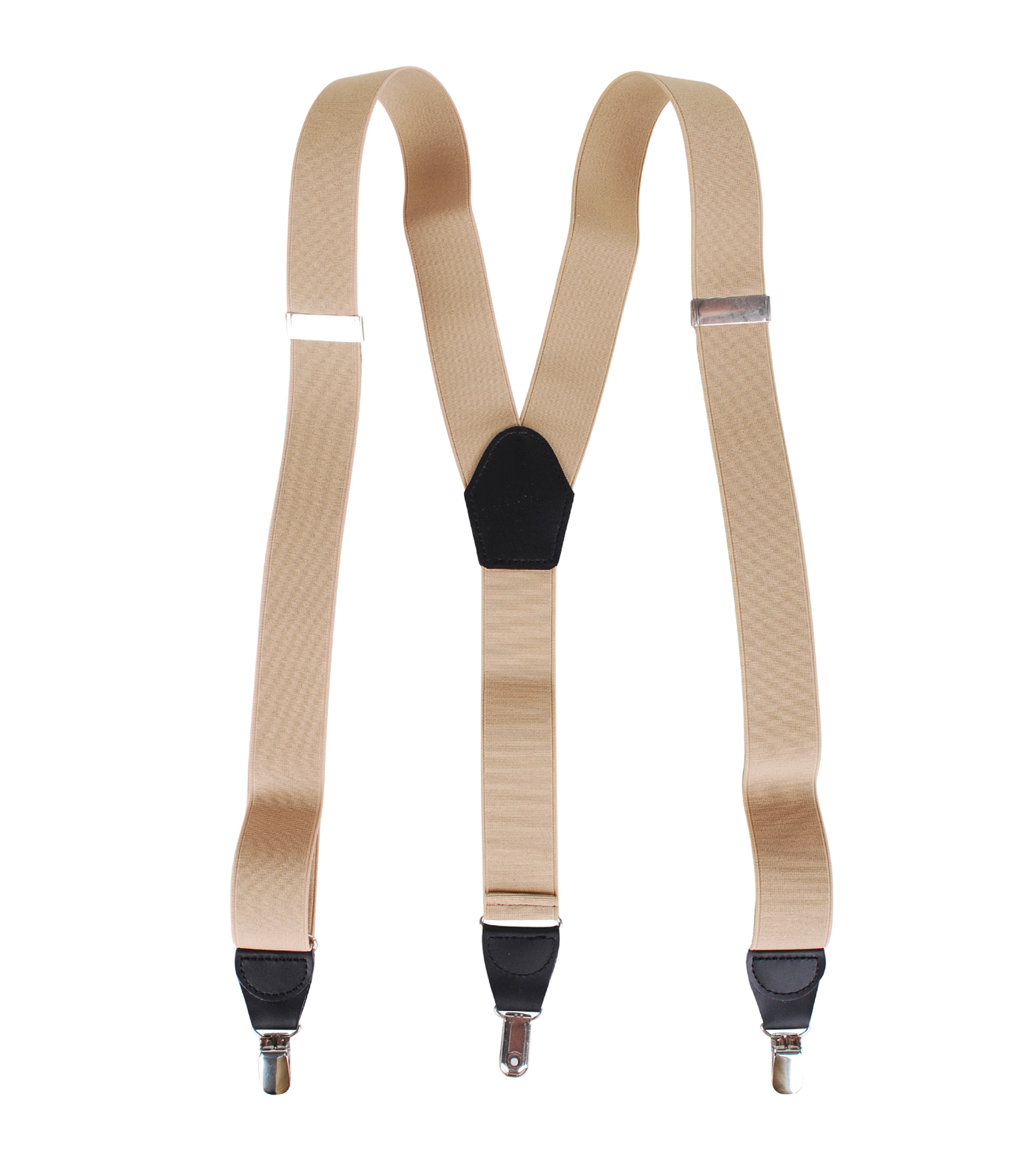 Suspenders Light Brown foto 1