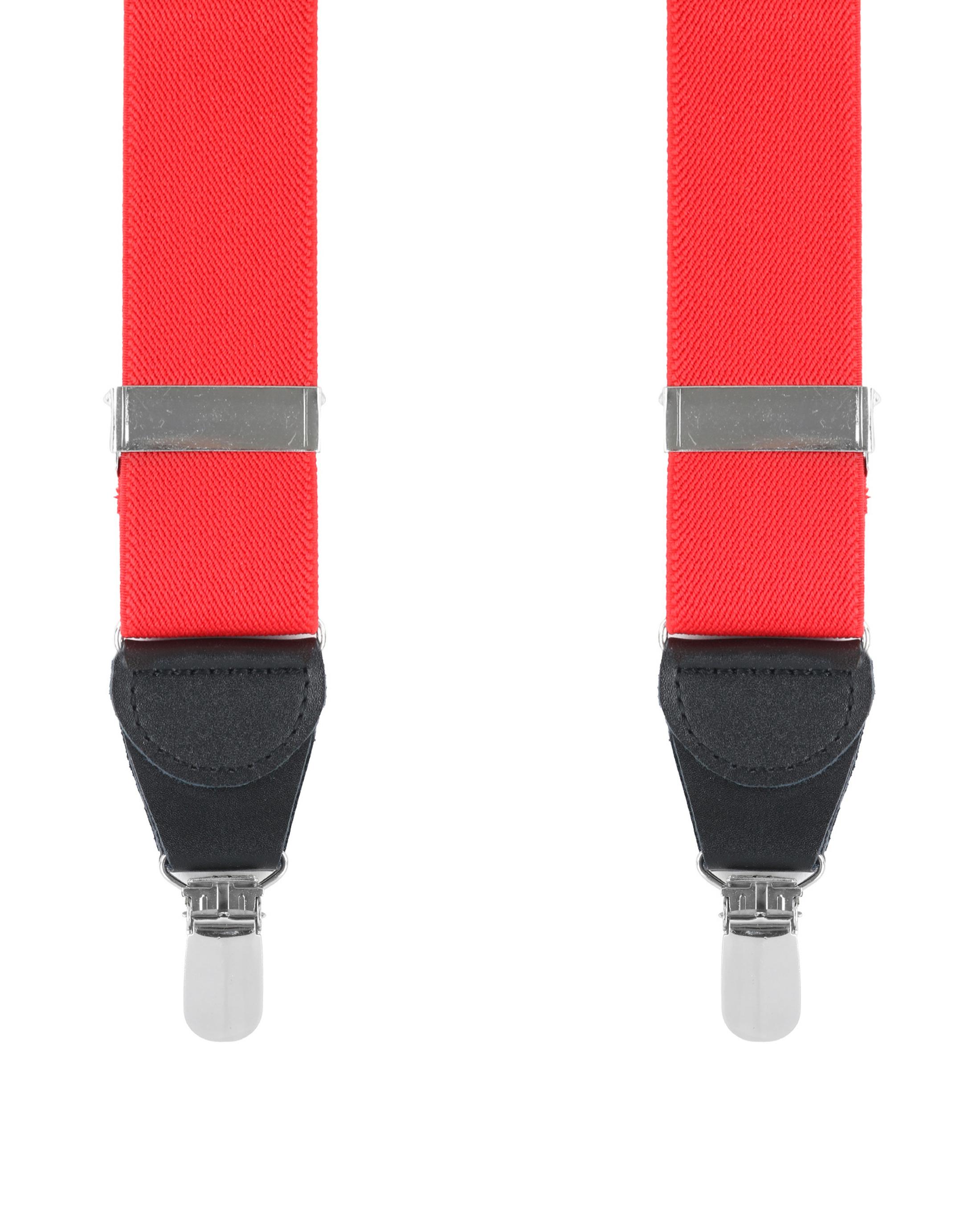 Suspenders Red foto 0