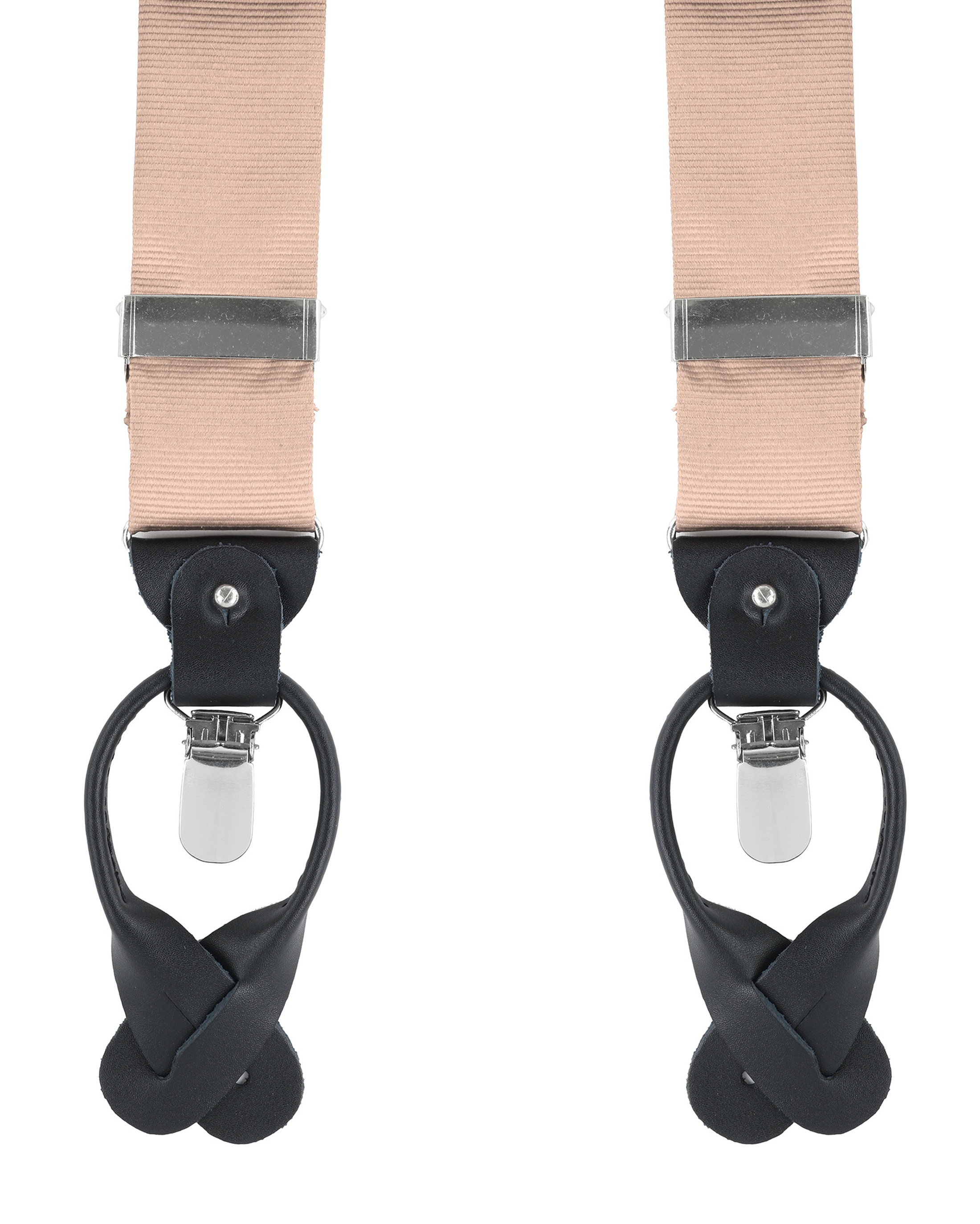 Suspenders Silk Beige F54