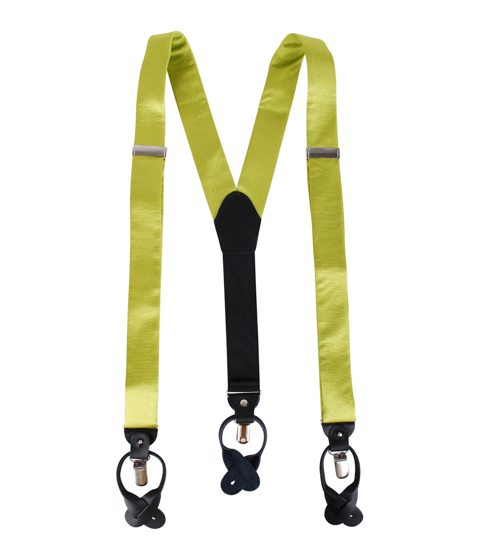 Suspenders Silm Lime Green F04 foto 1