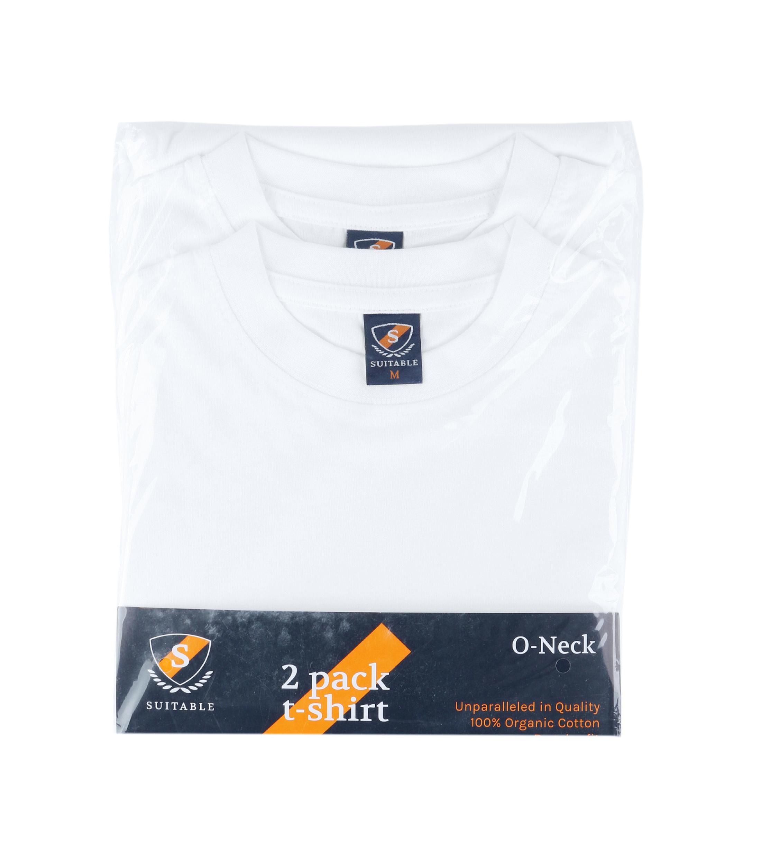 T-shirt Brede Ronde Hals 2Pack foto 5