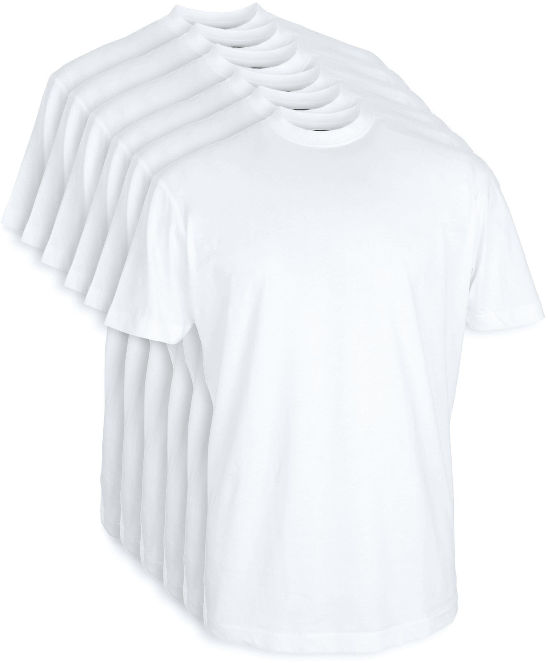 T-shirt Brede Ronde Hals 6-Pack (6 stuks) foto 0