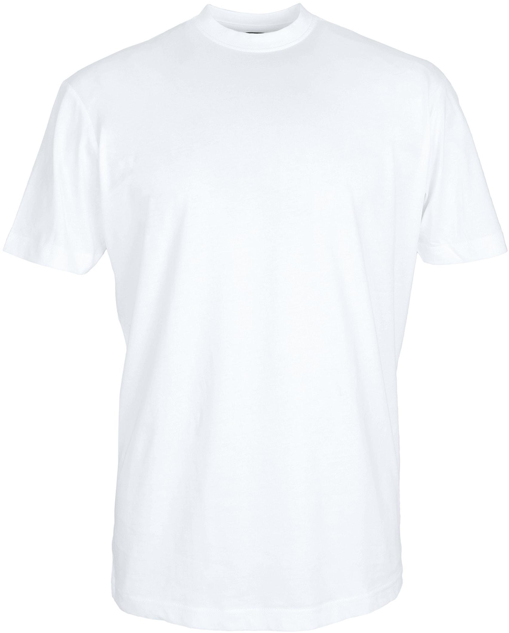 T-Shirt Breiter Rund Hals 6-Pack (6 Stück) Weiß foto 1