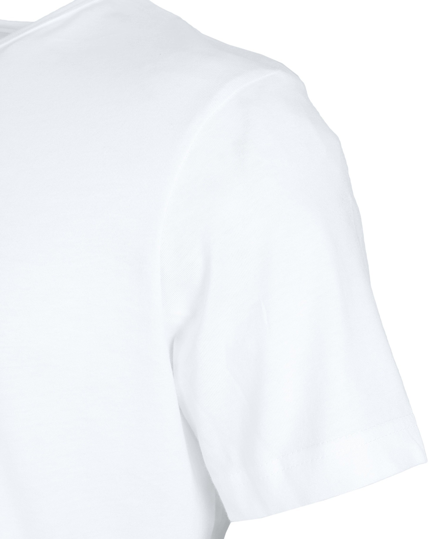 T-Shirt Breiter Rund Hals 6-Pack (6 Stück) Weiß foto 3