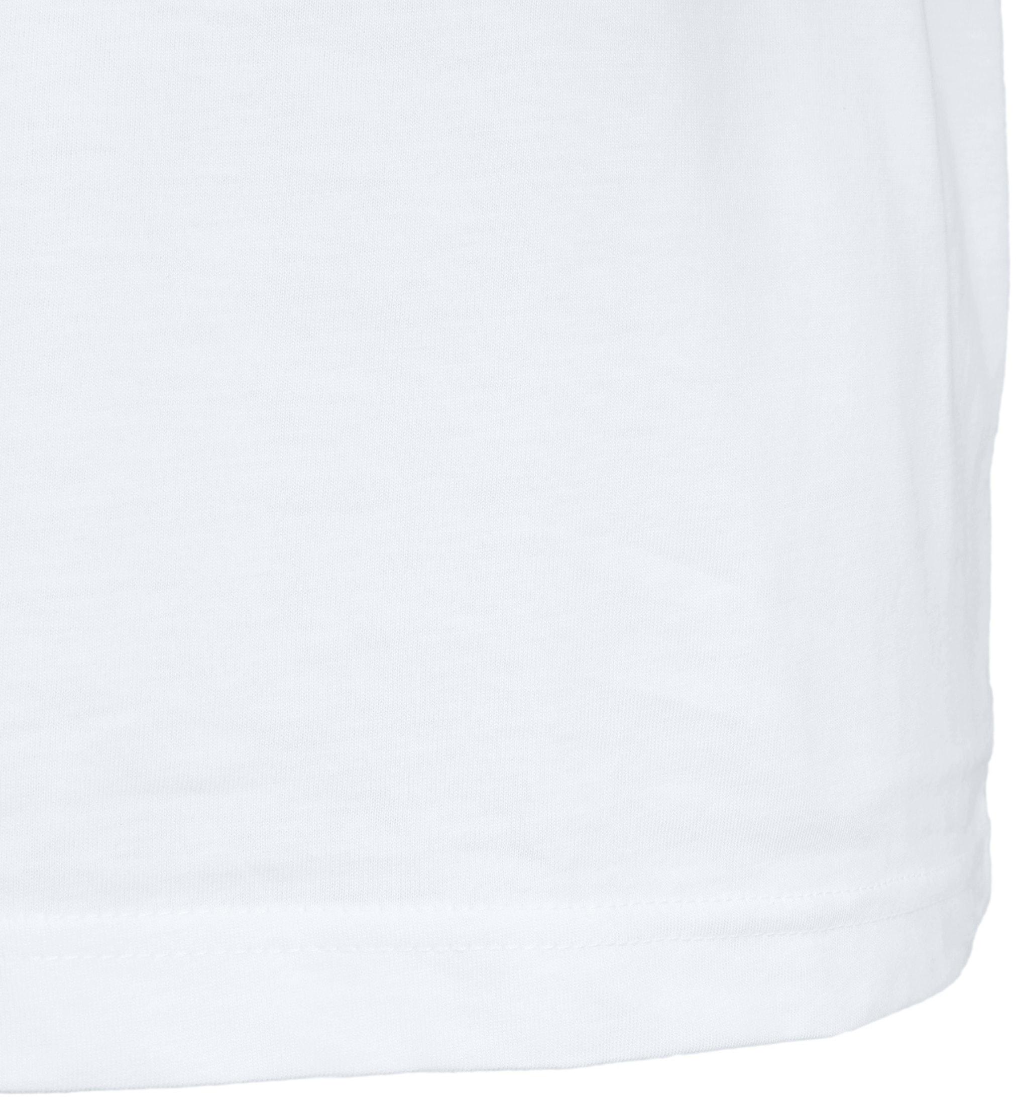 T-Shirt Breiter Rund Hals 6-Pack (6 Stück) Weiß foto 4