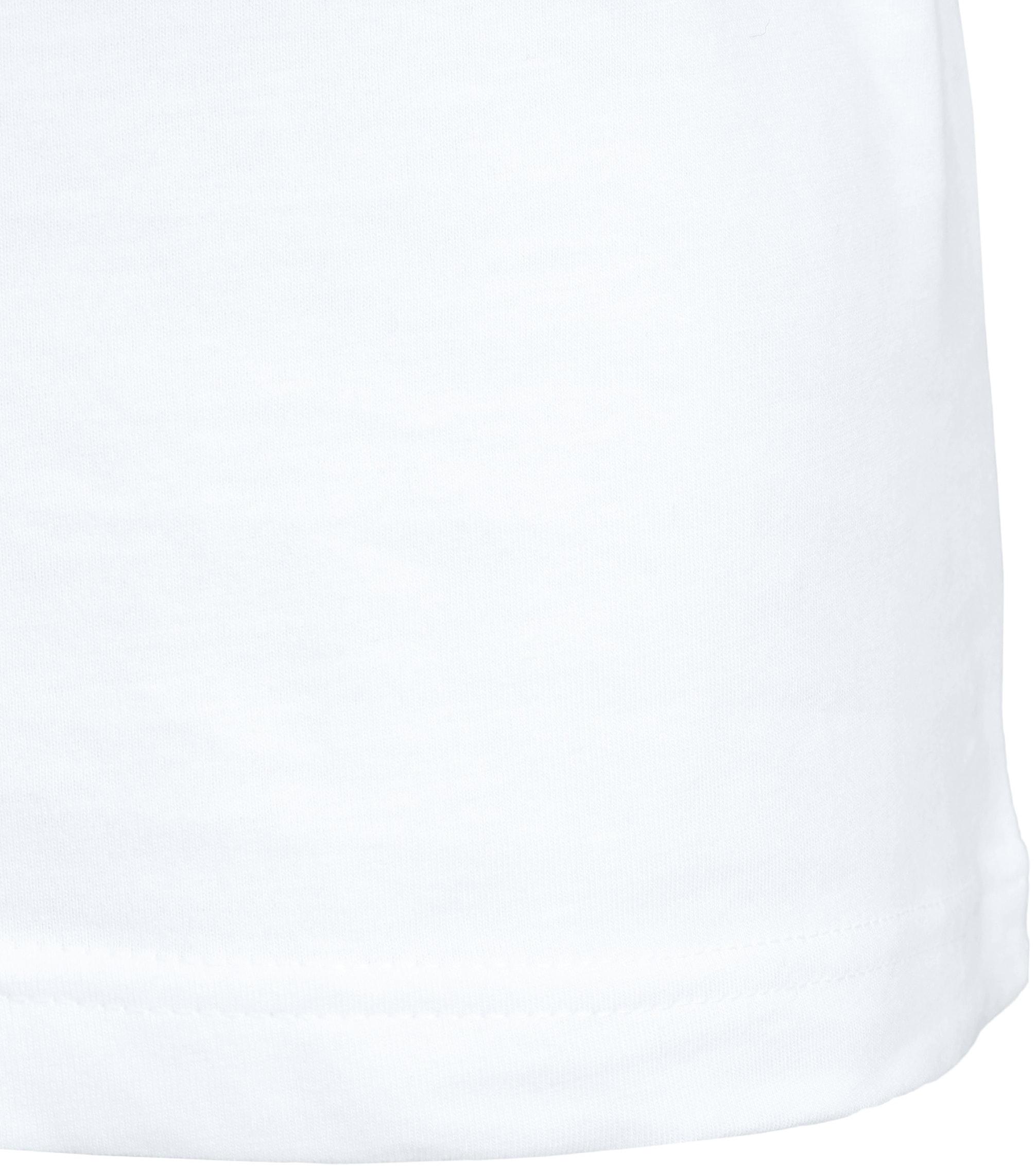 T-Shirt Rund Hals 2-Pack (2 Stück) Weiß foto 4