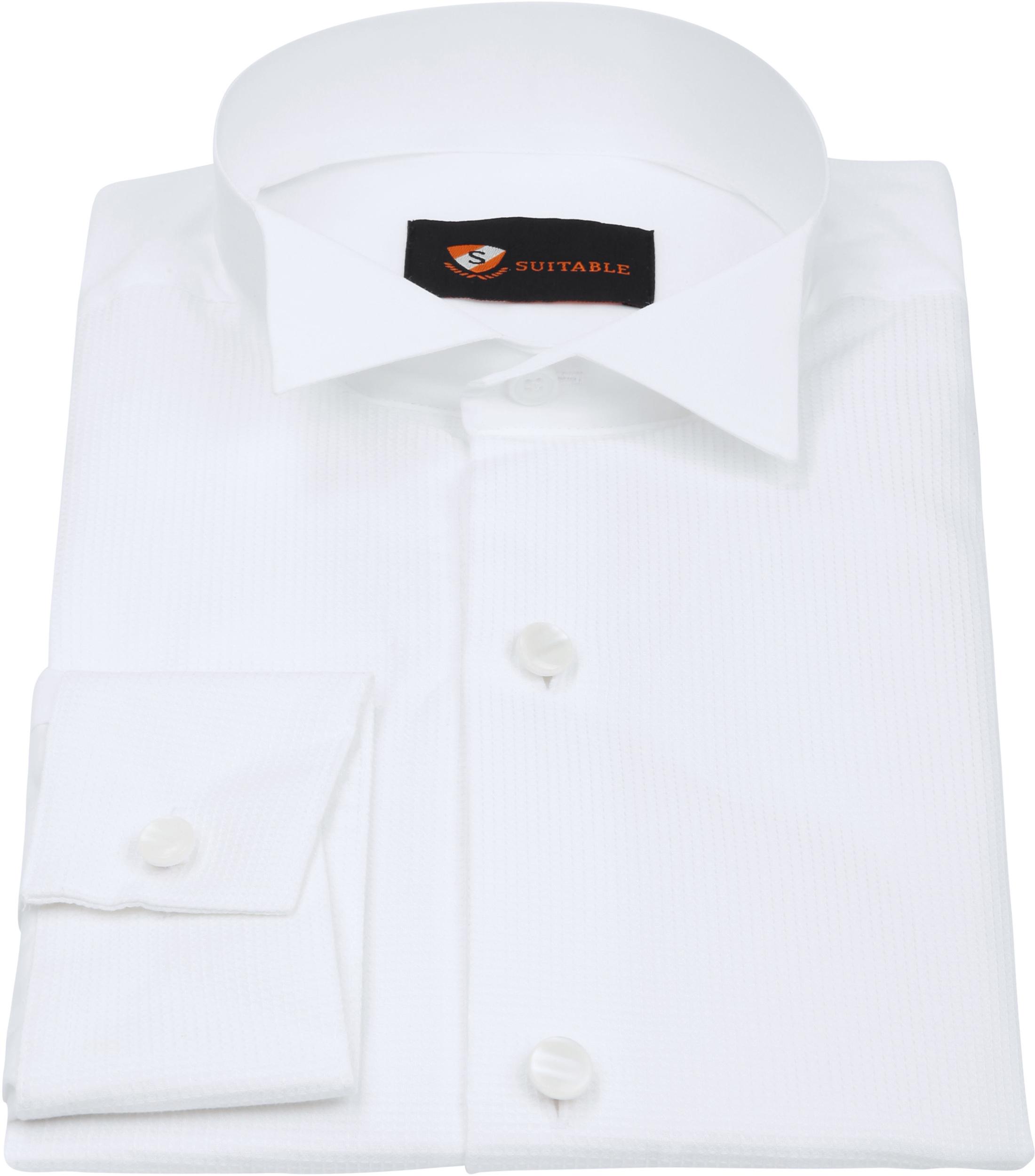 Tailcoat Shirt White foto 2
